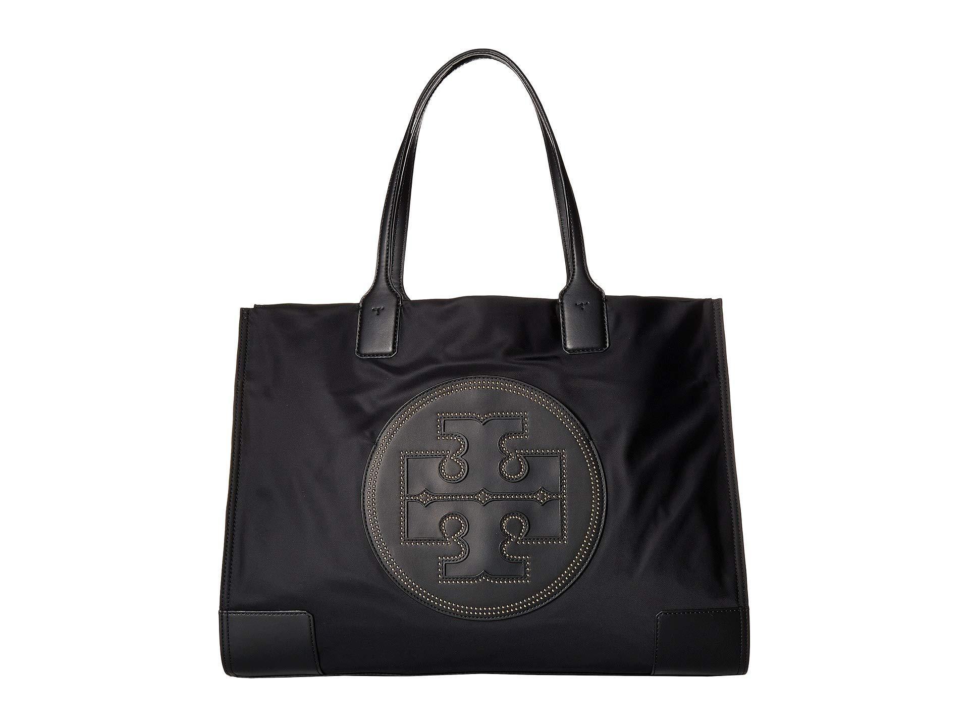 c99011c6005 Lyst - Tory Burch Ella Stud Tote (black) Tote Handbags in Black