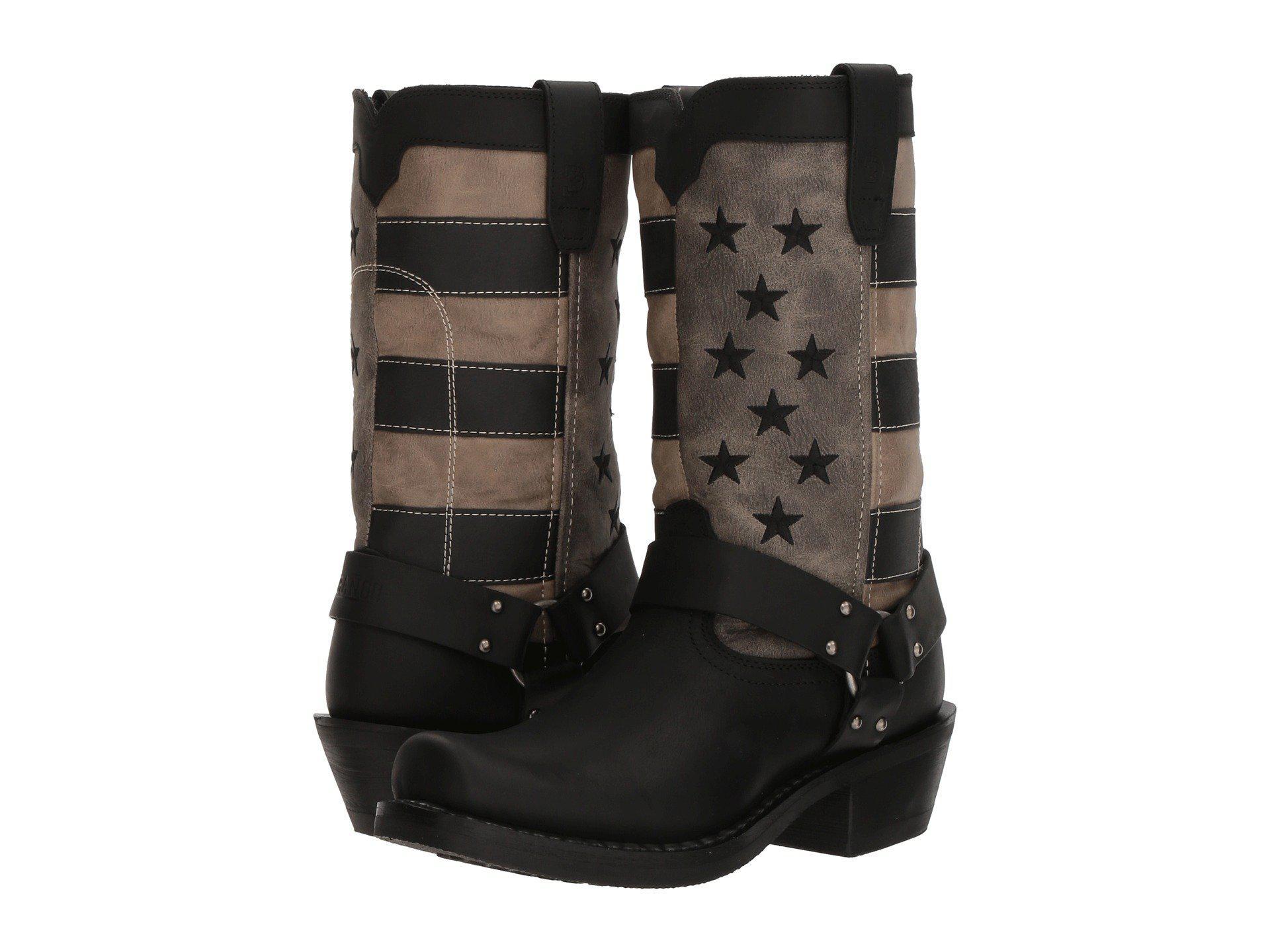 e0871cc3863 Lyst - Durango Flag Harness Boot 11 (black/charcoal/grey) Cowboy ...