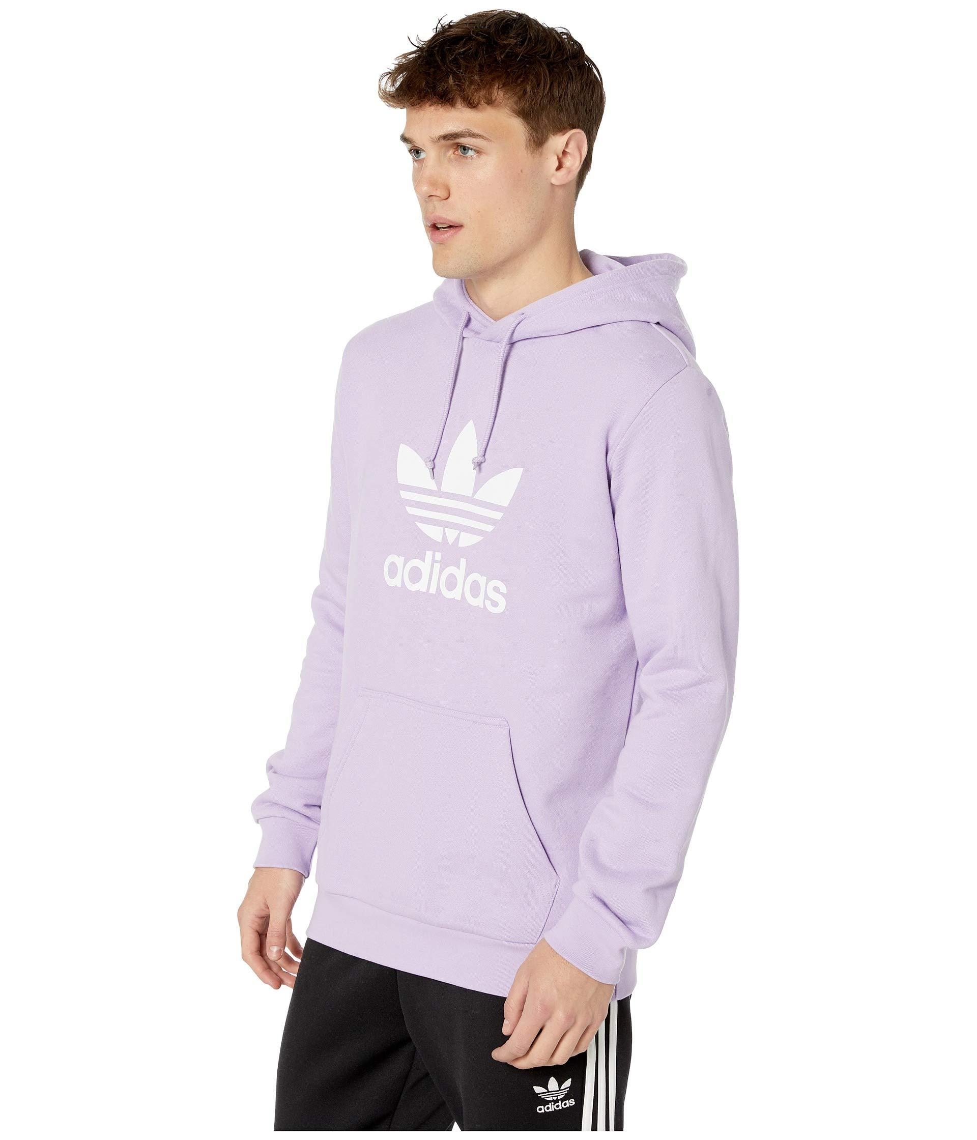 d4df56424763 Lyst - adidas Originals Trefoil Hoodie (bluebird) Men s Sweatshirt in  Purple for Men