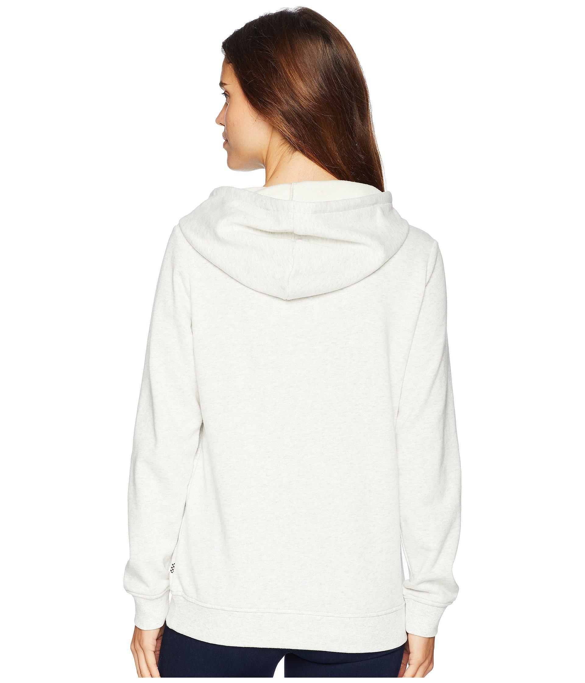bb882bd6250538 Lyst - Vans Rewind Hoodie (snow White Heather) Women s Sweatshirt in ...