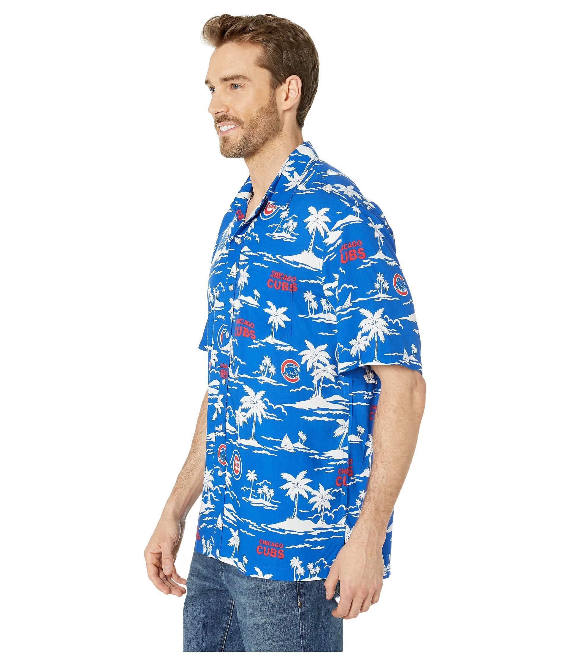 1a2e9089c Reyn Spooner - Chicago Cubs Vintage Rayon Shirt (blue) Men's Clothing for  Men -. View fullscreen
