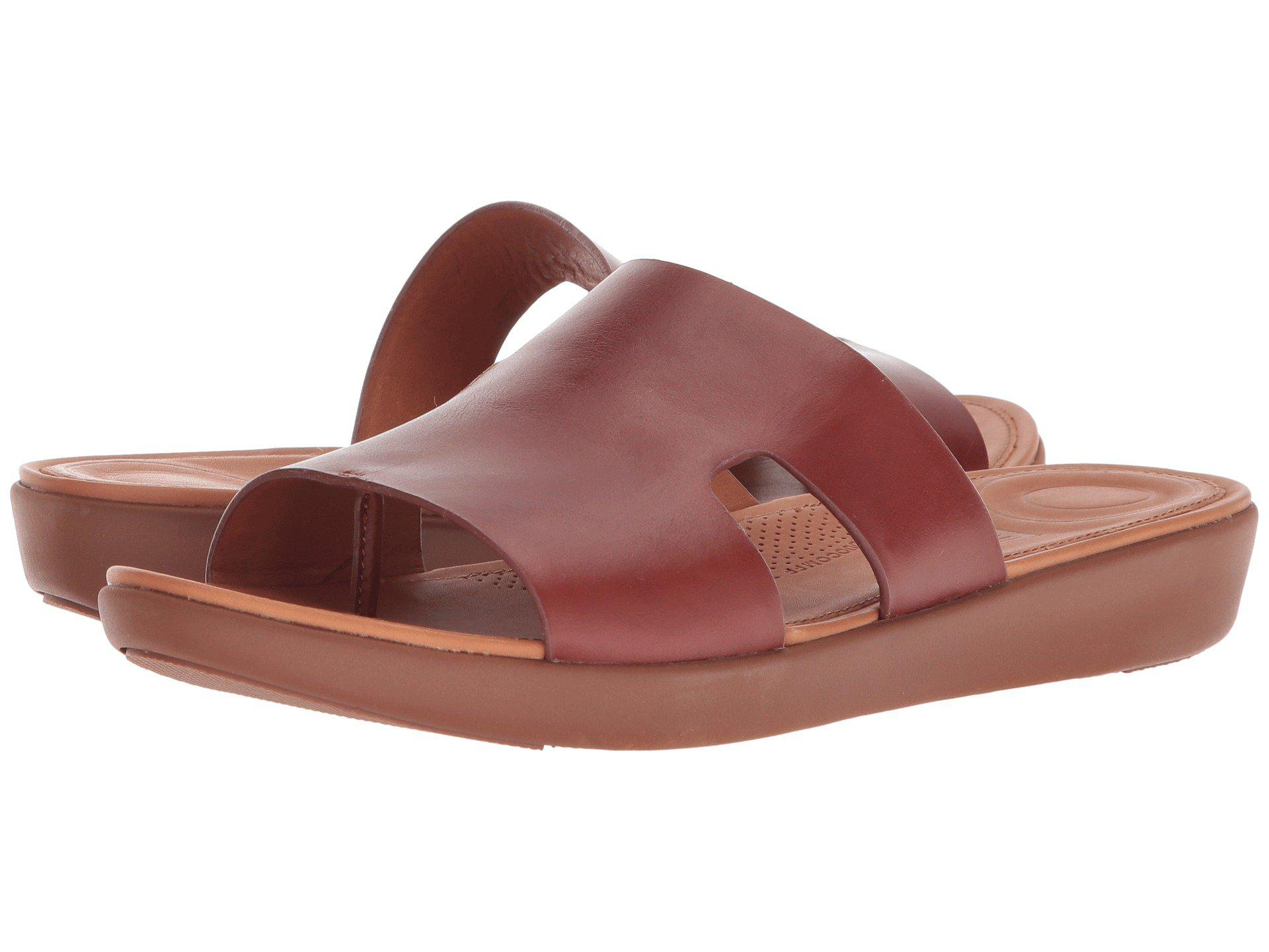 ab85635c1 Lyst - Fitflop H-bar Slide Sandals for Men