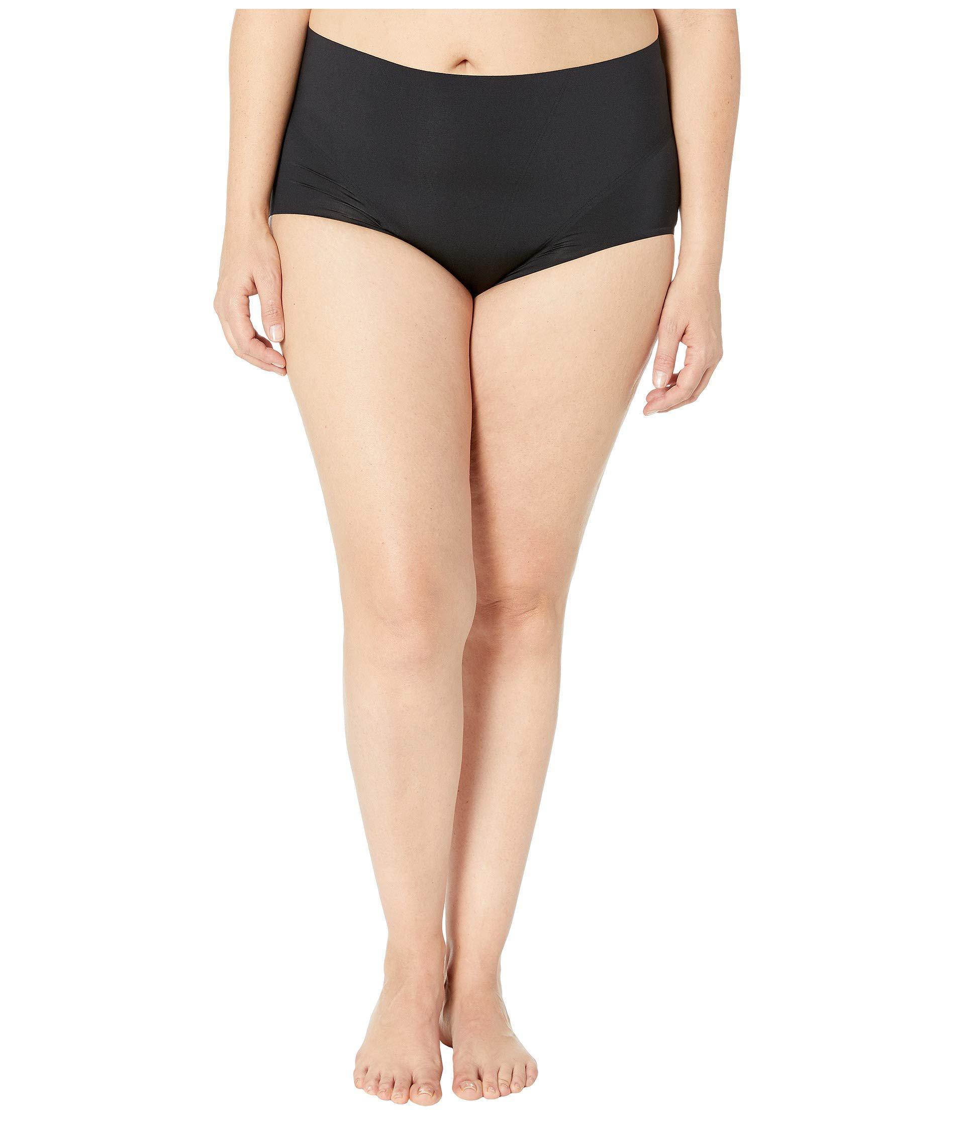 aa0188f4ea3 Spanx Plus Size Retro Brief (soft Nude) Women s Underwear in Black ...