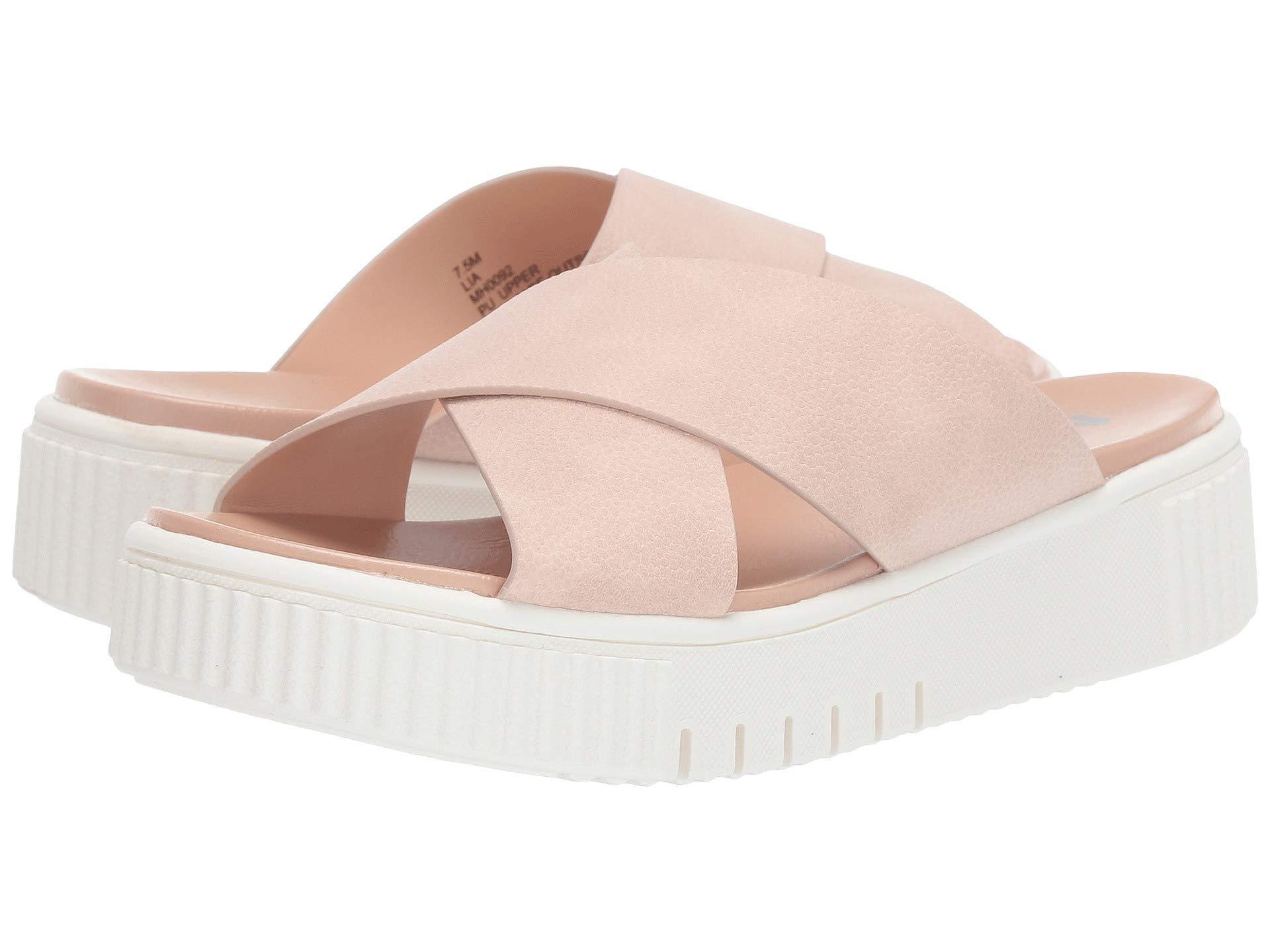 2021793f175 Lyst - MIA Lia (blush) Women s Sandals in Pink