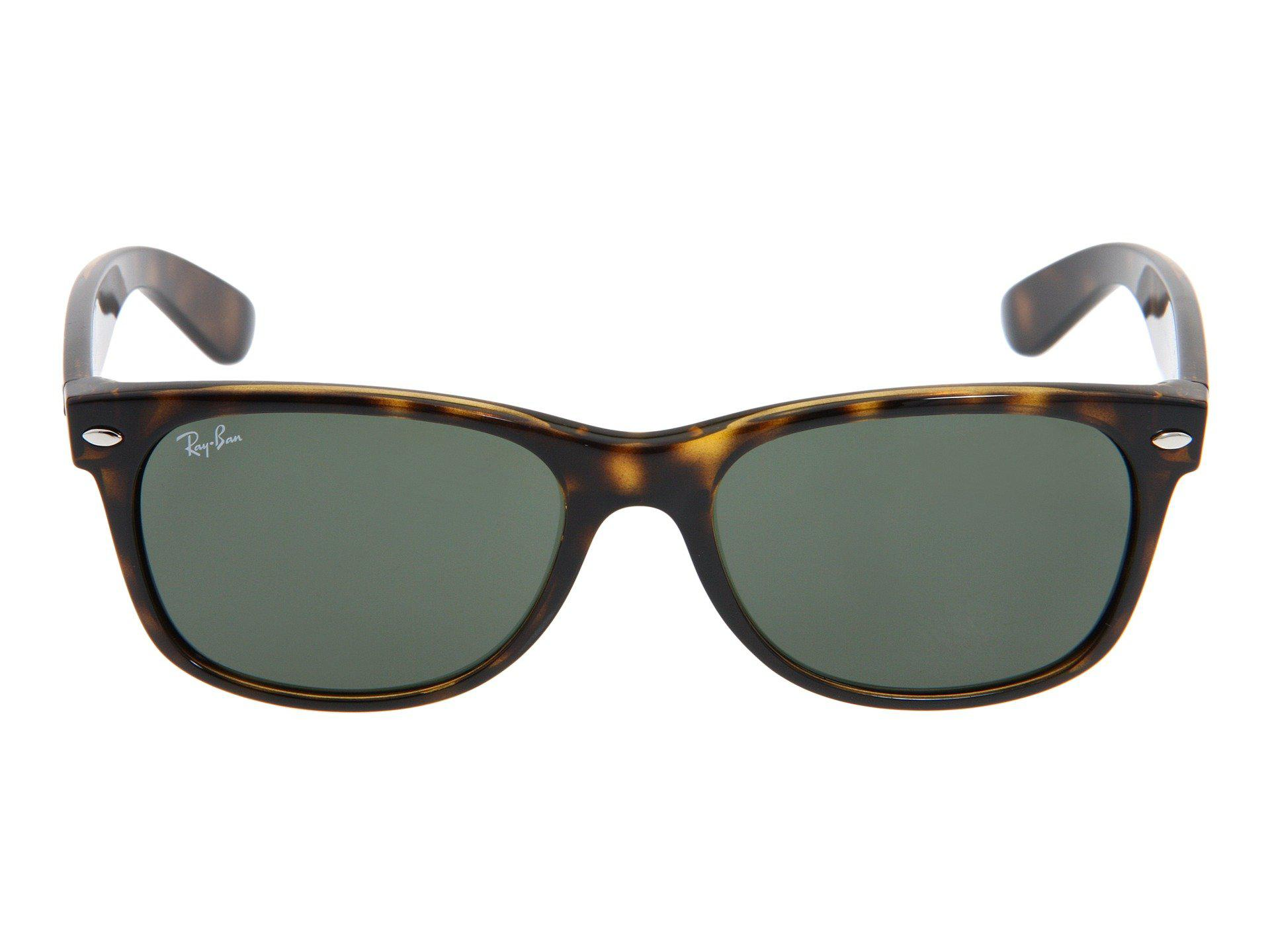 e960df4d99b Ray-Ban - Blue Rb2132 New Wayfarer 55mm (tortoise g-15 Xlt. View fullscreen