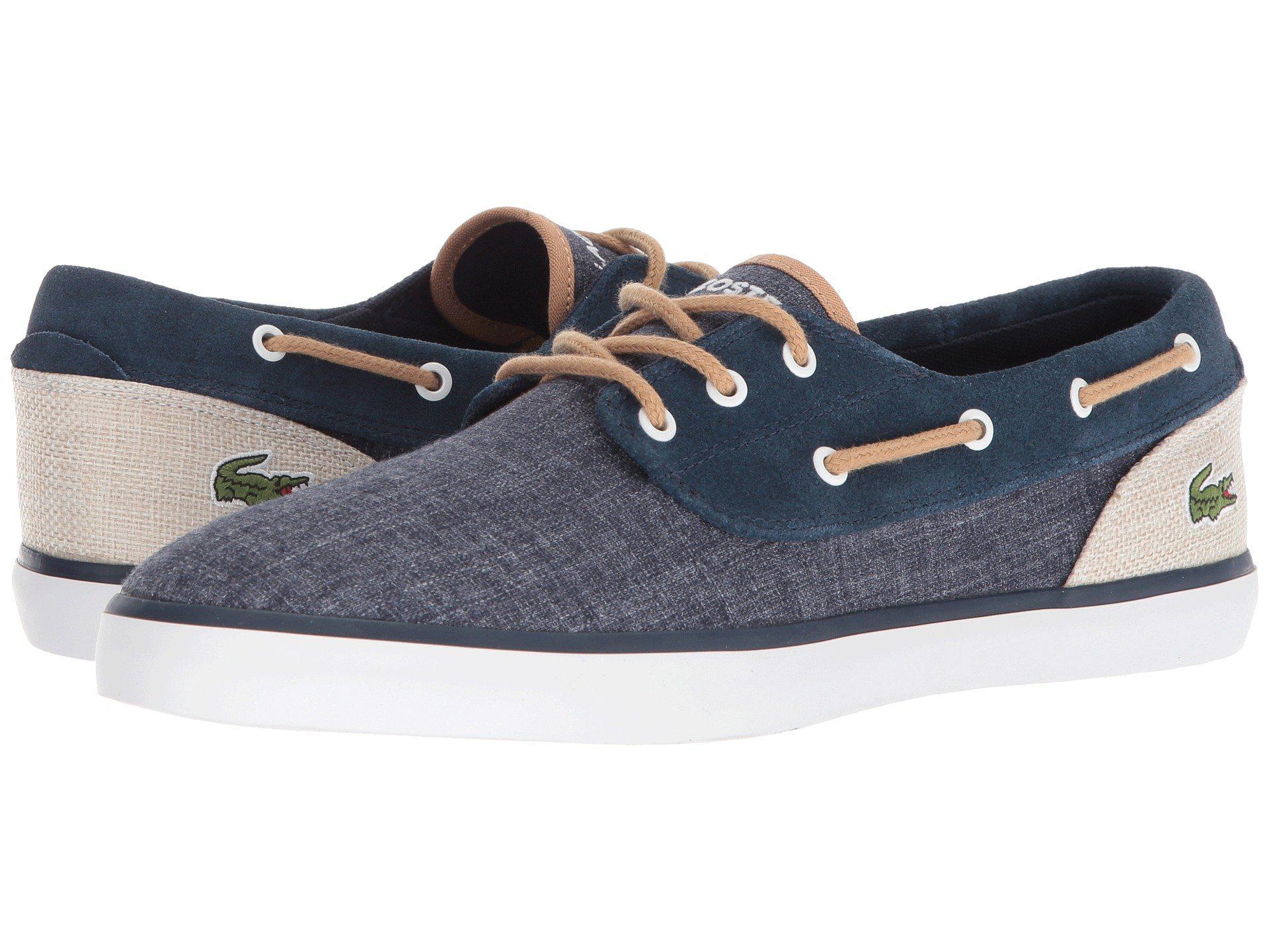 b8c176c5b Lyst - Lacoste Jouer Deck 218 1 (natural natural) Men s Shoes in ...