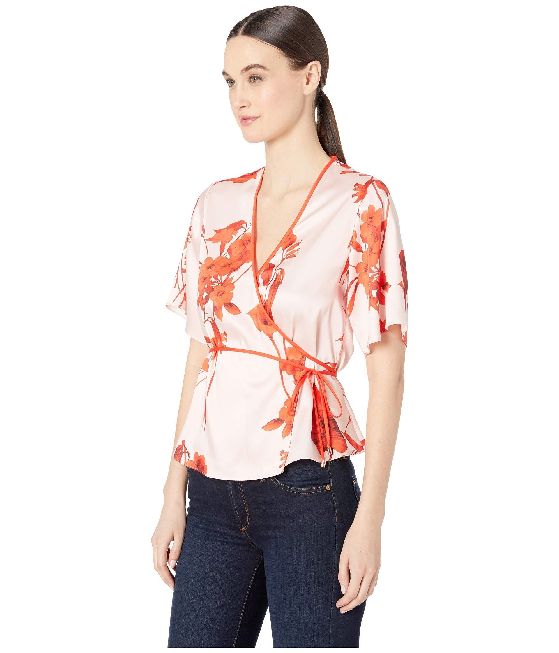44bbd48bdf7f2 Lyst - Ted Baker Melonyy Blouse (pale Pink) Women s Blouse in Pink