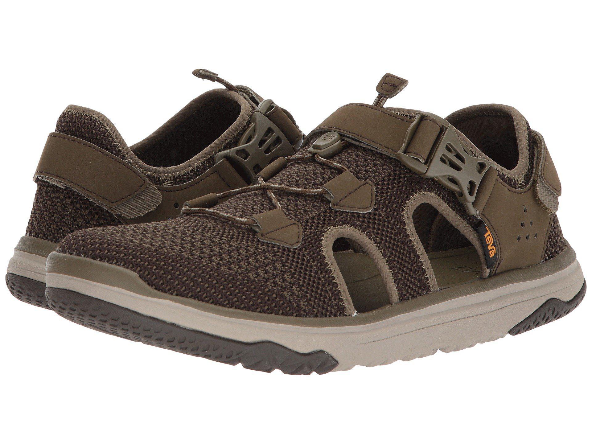 4013f04502600c Lyst - Teva Terra-float Travel Knit (dark Olive) Men s Shoes in ...