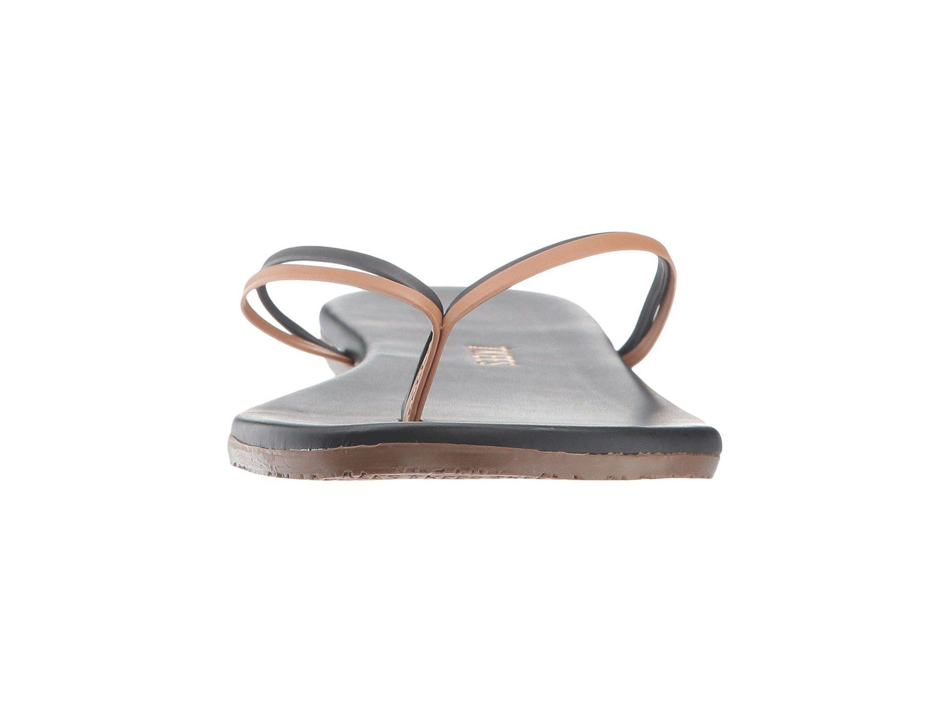 2b73b3bc1e0 TKEES - Multicolor Flip-flop-duos (brownie) Women s Toe Open Shoes -. View  fullscreen