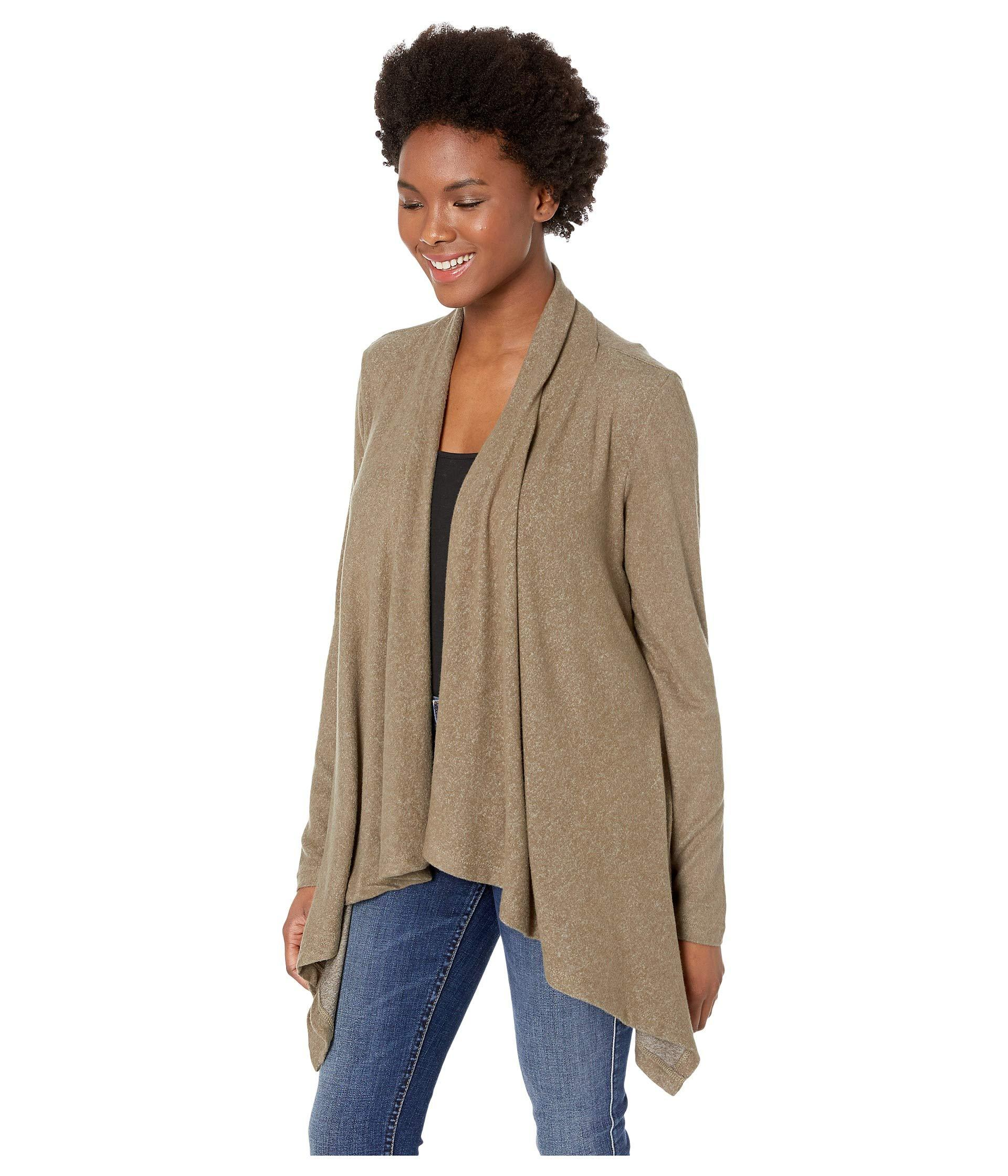252b6dbe246948 Lyst - B Collection By Bobeau Amie Cardigan (lavender Violet) Women's  Sweater in Green