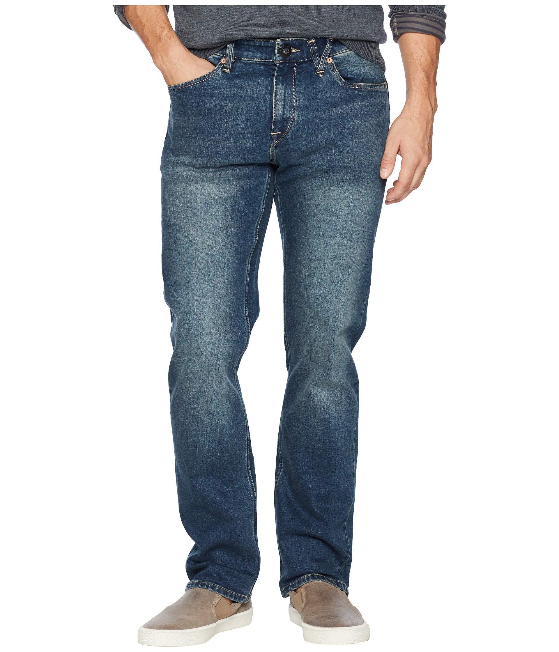 44e10a1553 Volcom Solver Denim (s Gene Selvedge) Men's Jeans in Blue for Men - Lyst