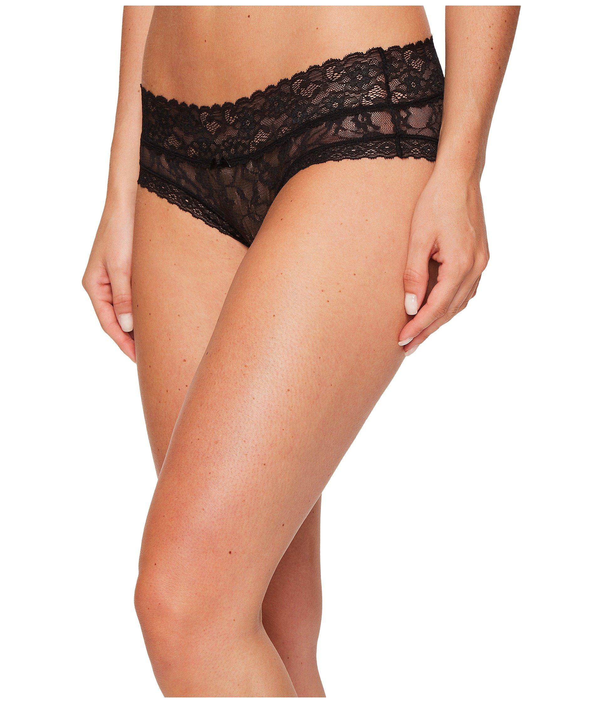 df27d5e55fce DKNY Signature Lace Bikini 543000 (black) Women's Underwear in Black ...