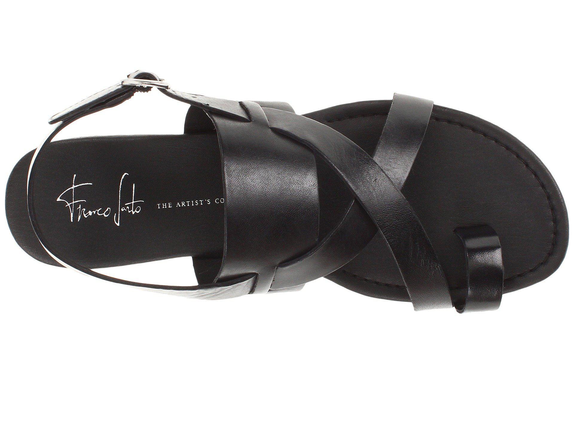 5d404b2fab0d Franco Sarto - Black Gia By Sarto (adobe Rose) Women s Sandals - Lyst. View  fullscreen