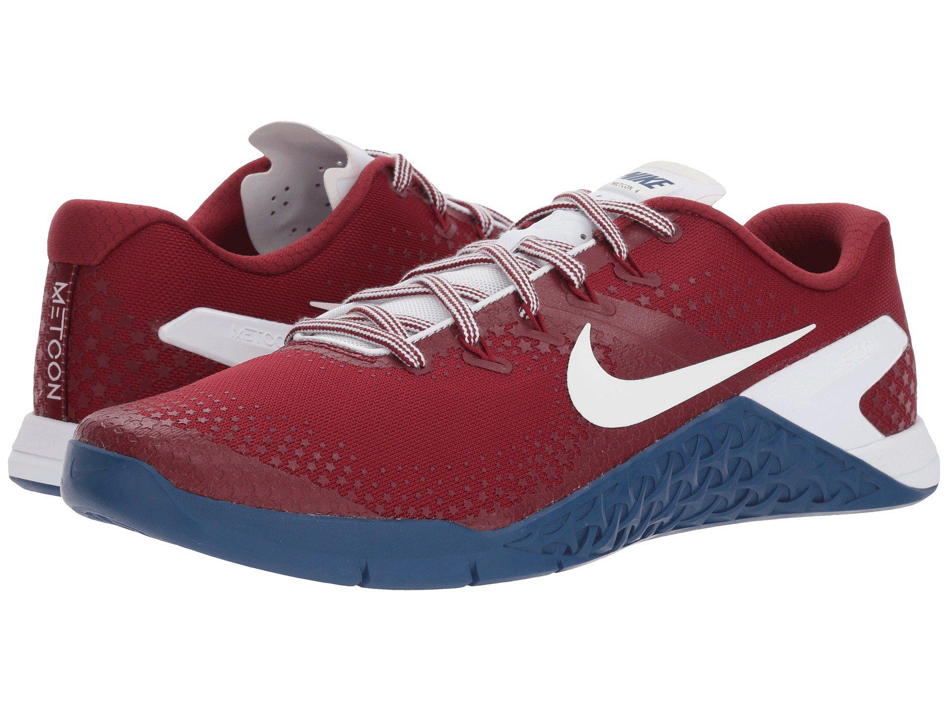 Nike. Men's Red Metcon 4 Americana