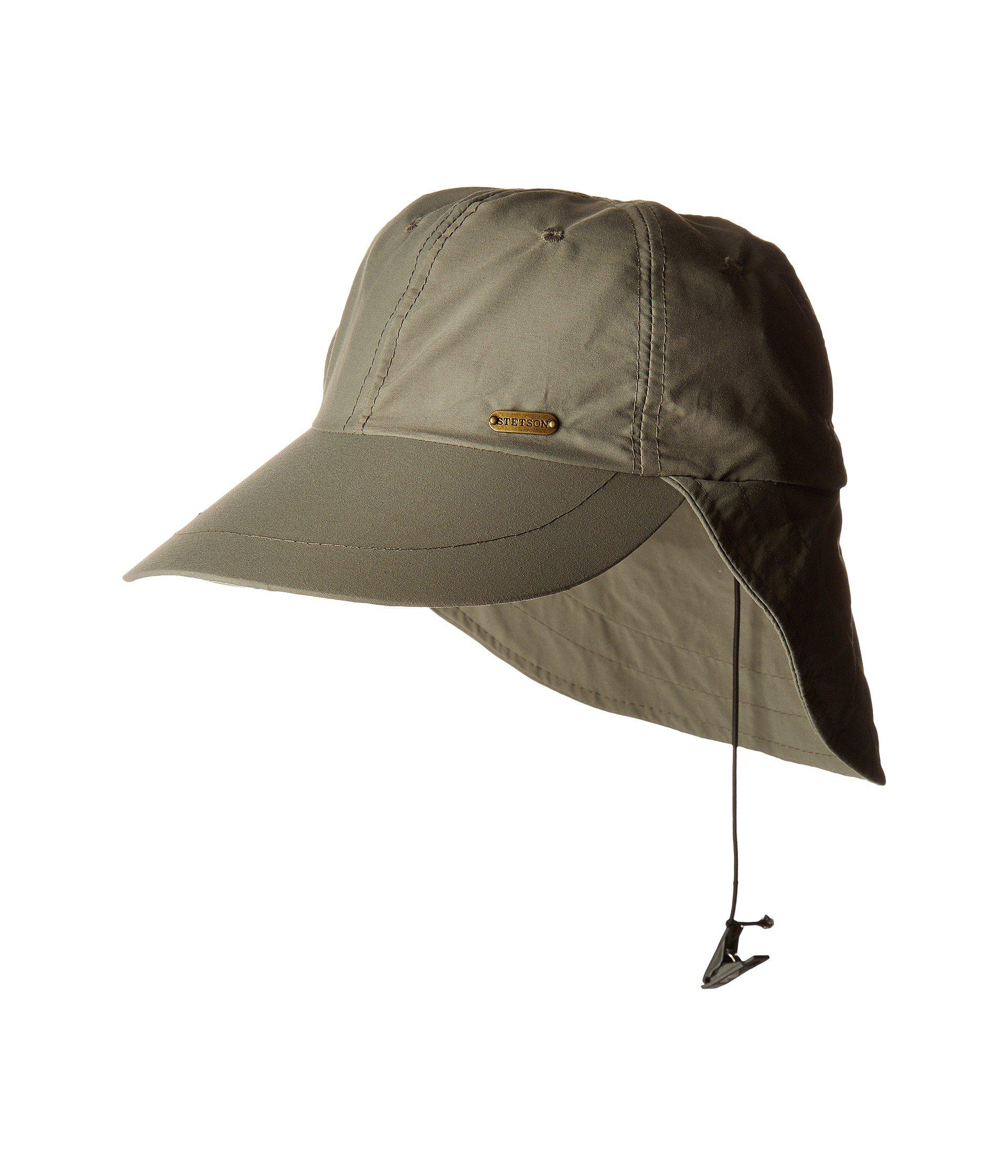 5c36e6f6abb5b Lyst - Stetson No Fly Zone Flap Cap (willow) Caps for Men