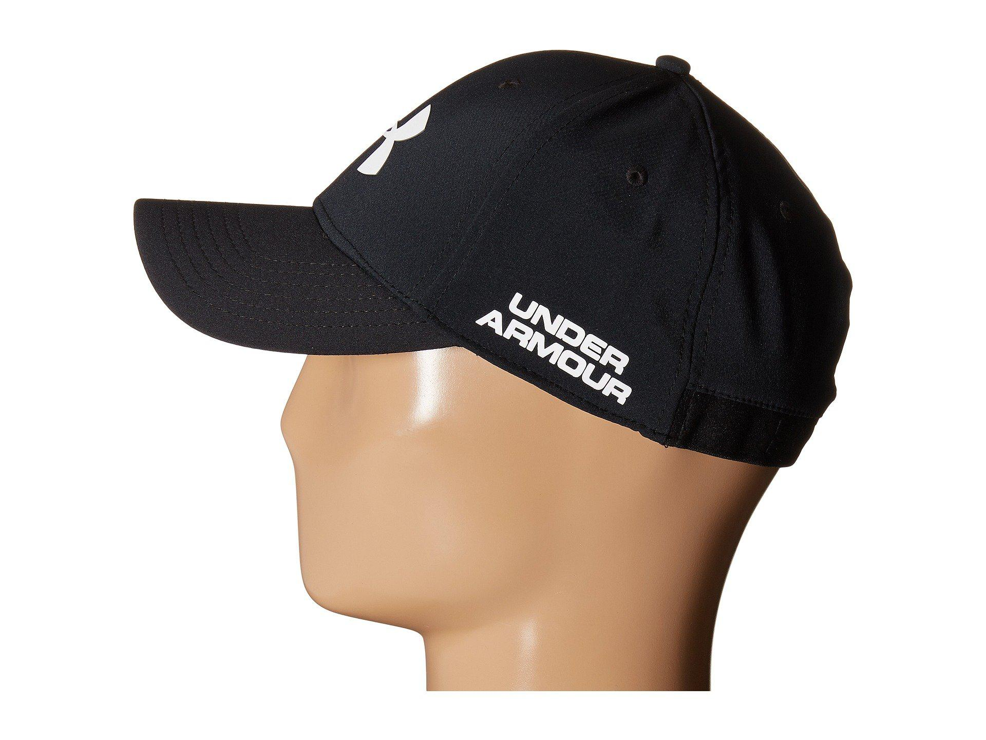 Lyst - Under Armour Ua Golf Headline Cap in Black for Men fed630107a2
