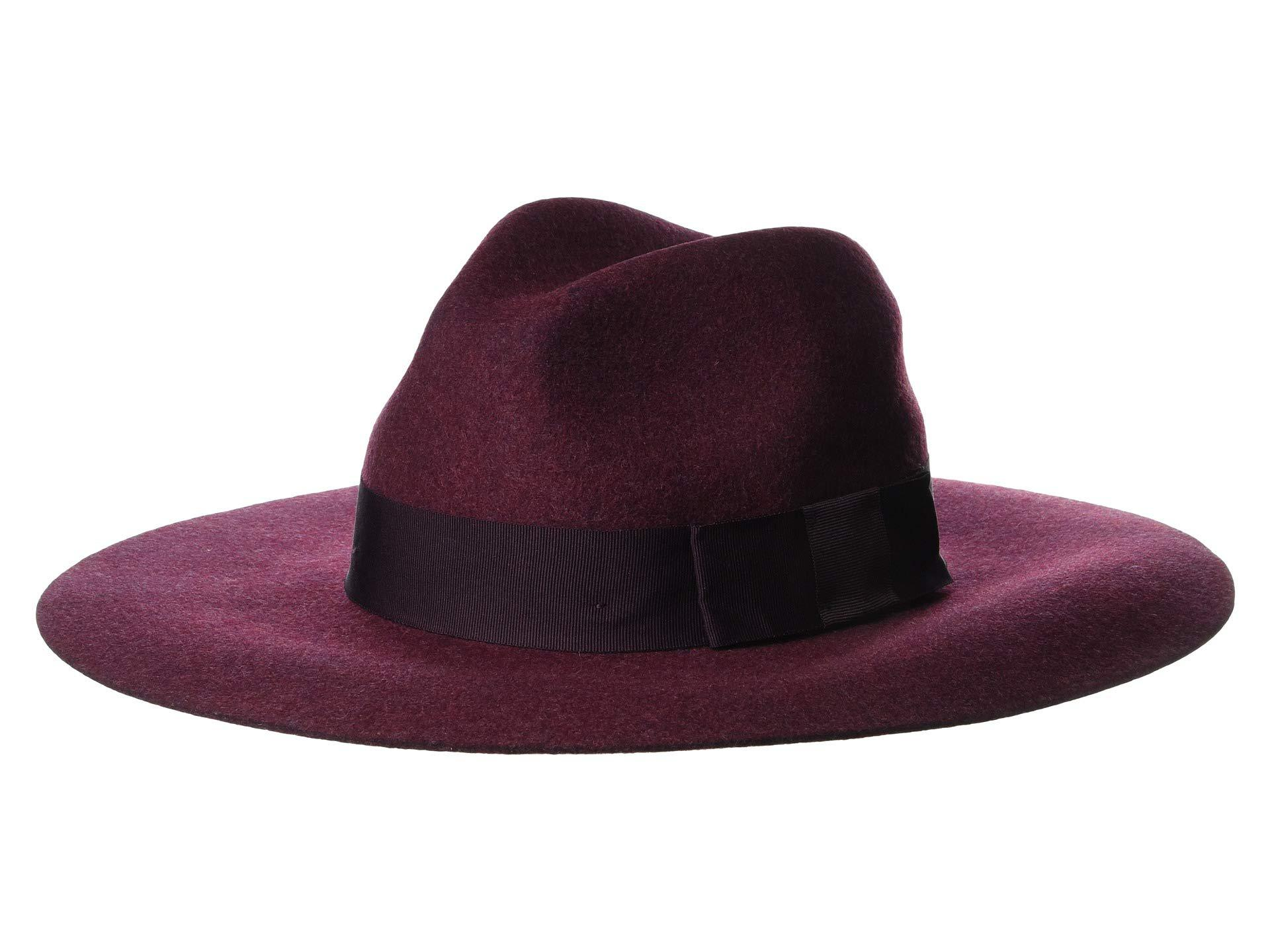 83d1bd92 Brixton Piper (heather Wine) Traditional Hats in Purple - Lyst
