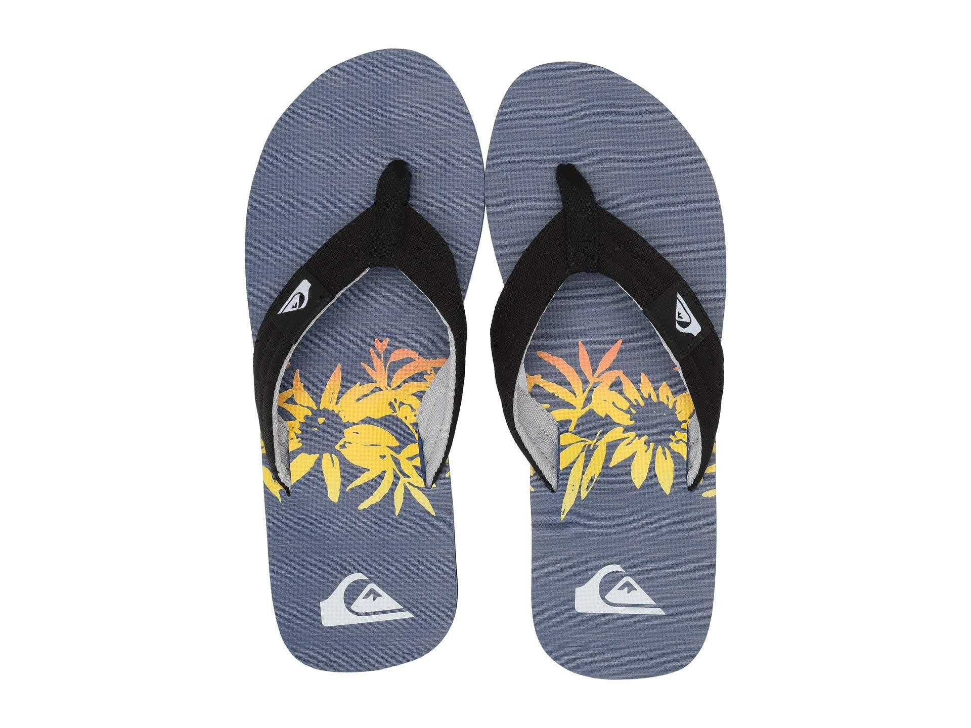 21604b7669d2 Lyst - Quiksilver Molokai Layback (blue black grey) Men s Sandals in ...