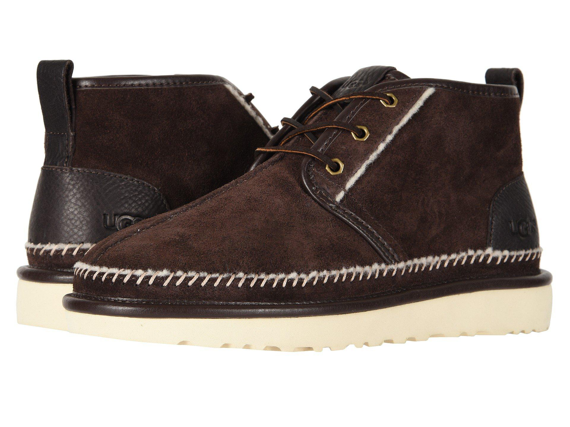 701ff9830e21 Lyst - UGG Neumel Stitch (stout) Men s Boots in Brown for Men