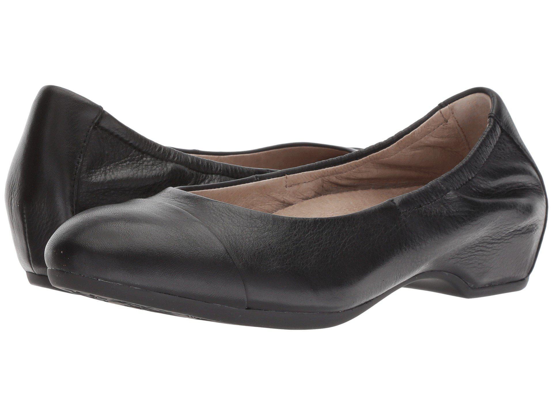 a4c1cd8fcb Dansko Lisanne (black/black Milled Nappa) Women's Flat Shoes in ...