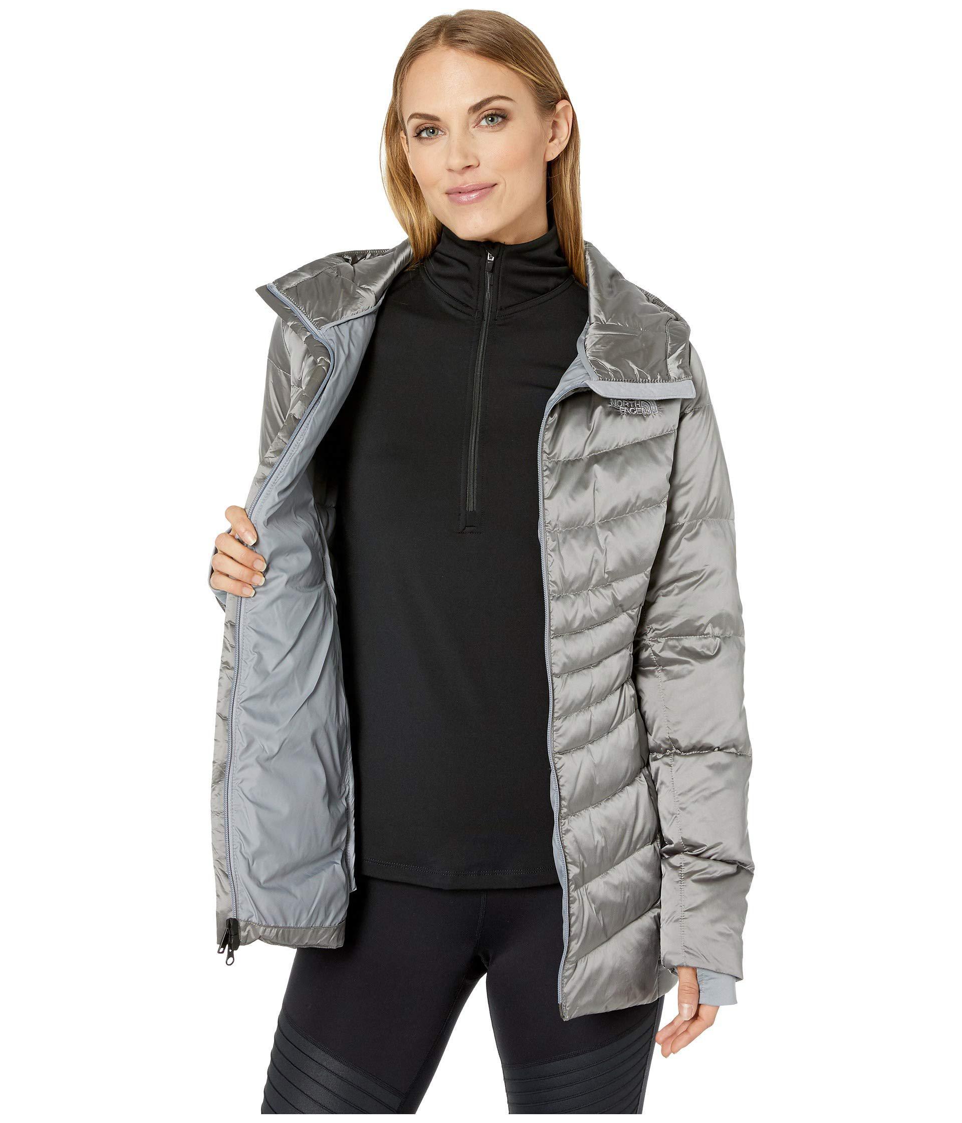 b6aa8ff55a242 The North Face - Gray Aconcagua Parka Ii (shiny Asphalt Grey) Women s Coat  -. View fullscreen