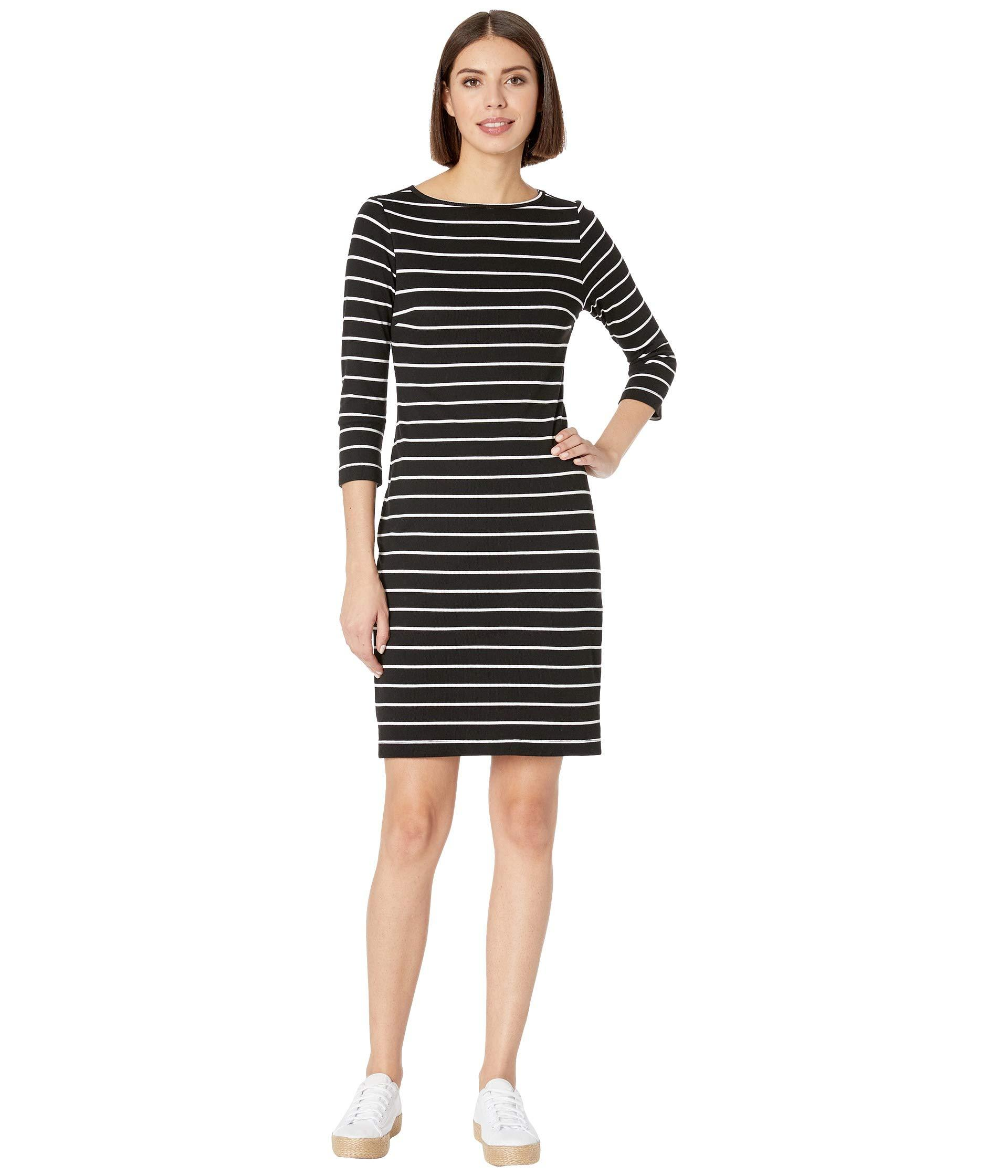 311cb59e Lyst - Karen Kane 3/4 Sleeve Sheath Dress (stripe) Women's Clothing ...