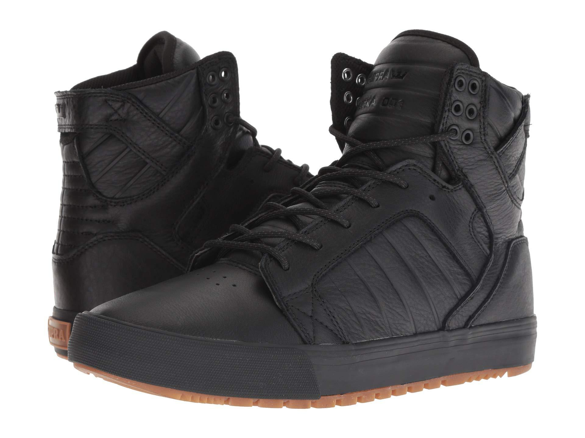 8354ff23877 Lyst - Supra Skytop Cw Winter (black black gum) Men s Shoes in Black ...