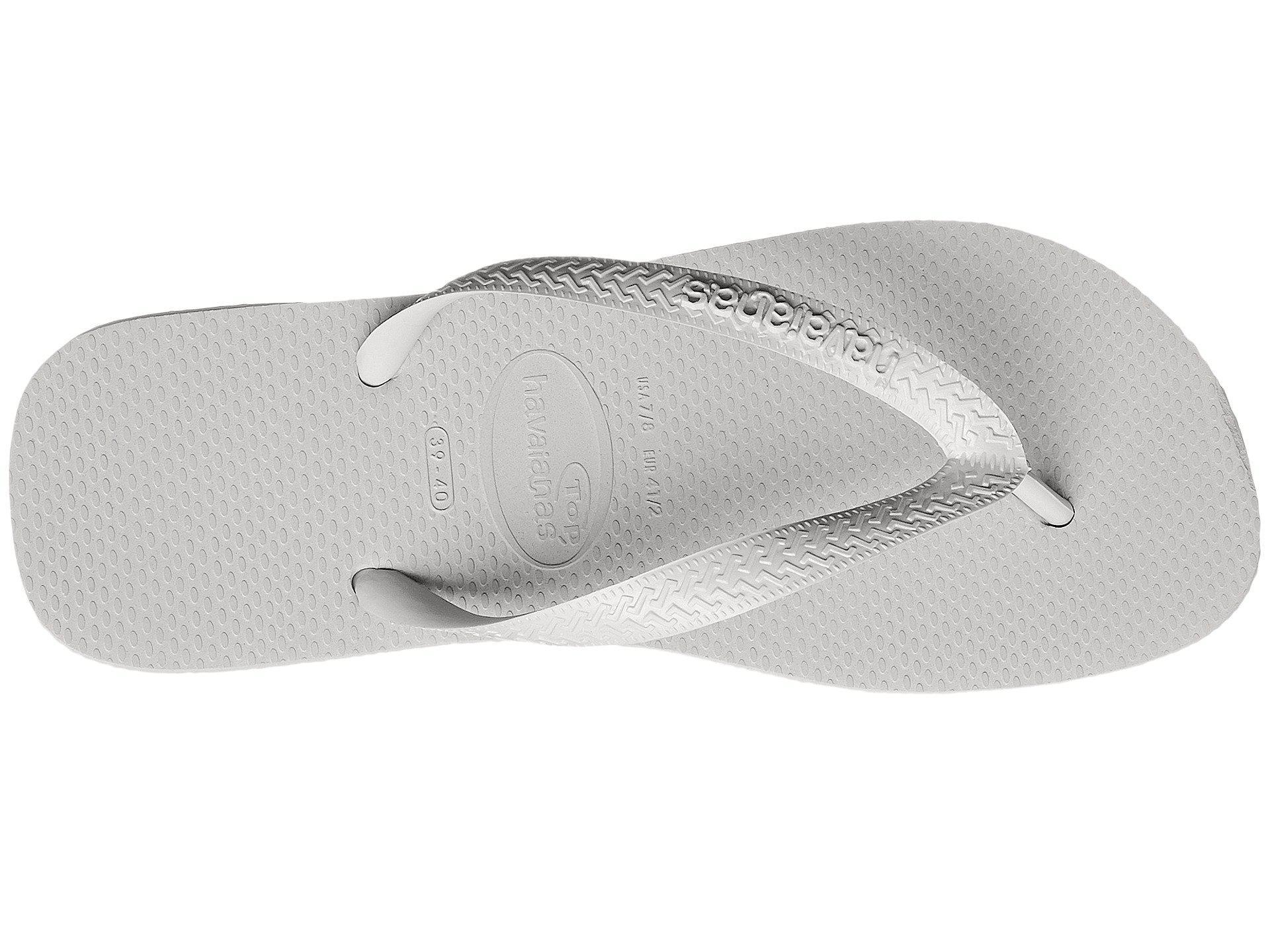 739a866d80a845 Havaianas - White Top Flip Flops (marine Blue) Men s Sandals for Men -  Lyst. View fullscreen