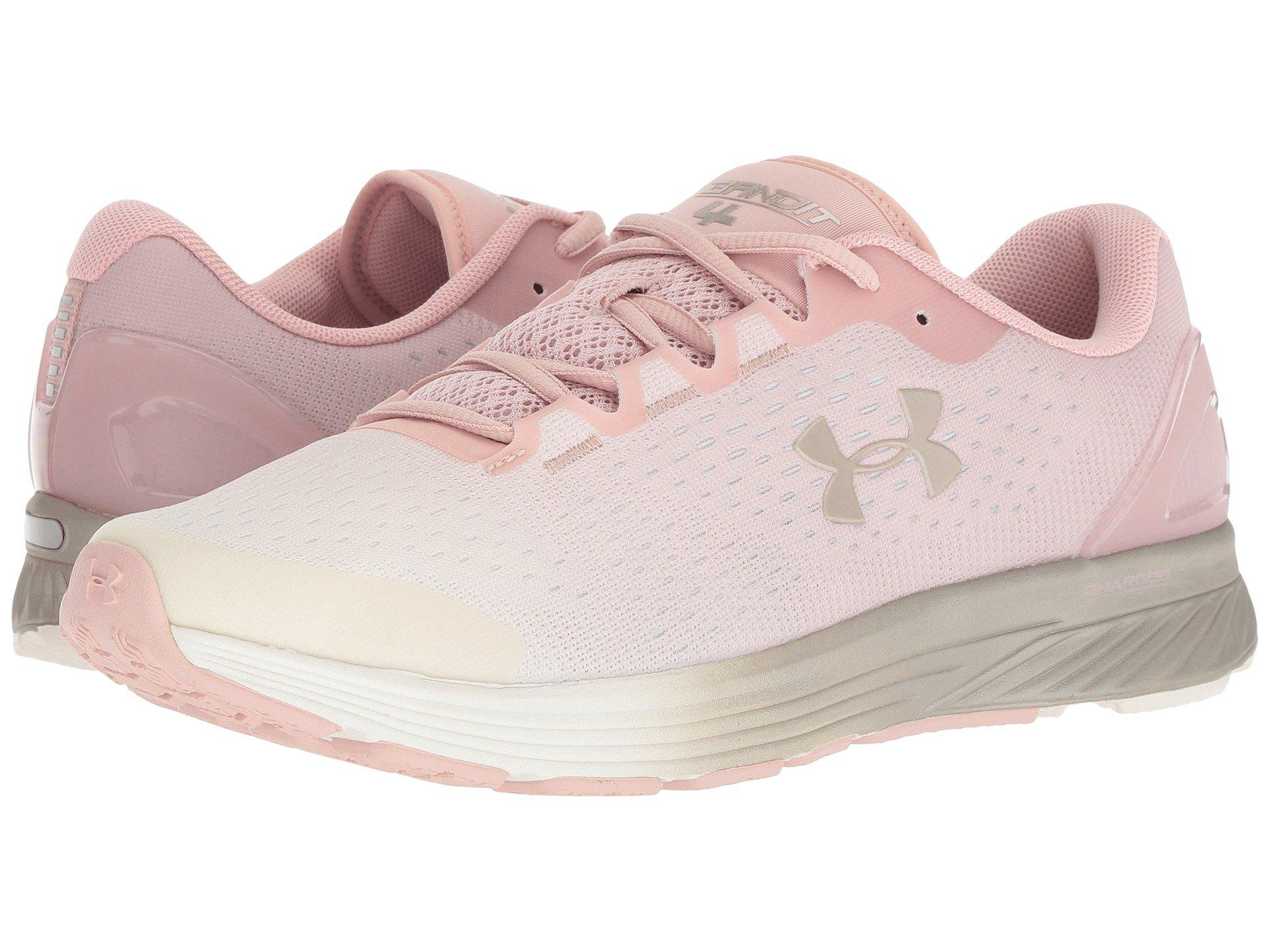 various colors aeb4c 63058 Under Armour Ua Charged Bandit 4 in Pink - Lyst