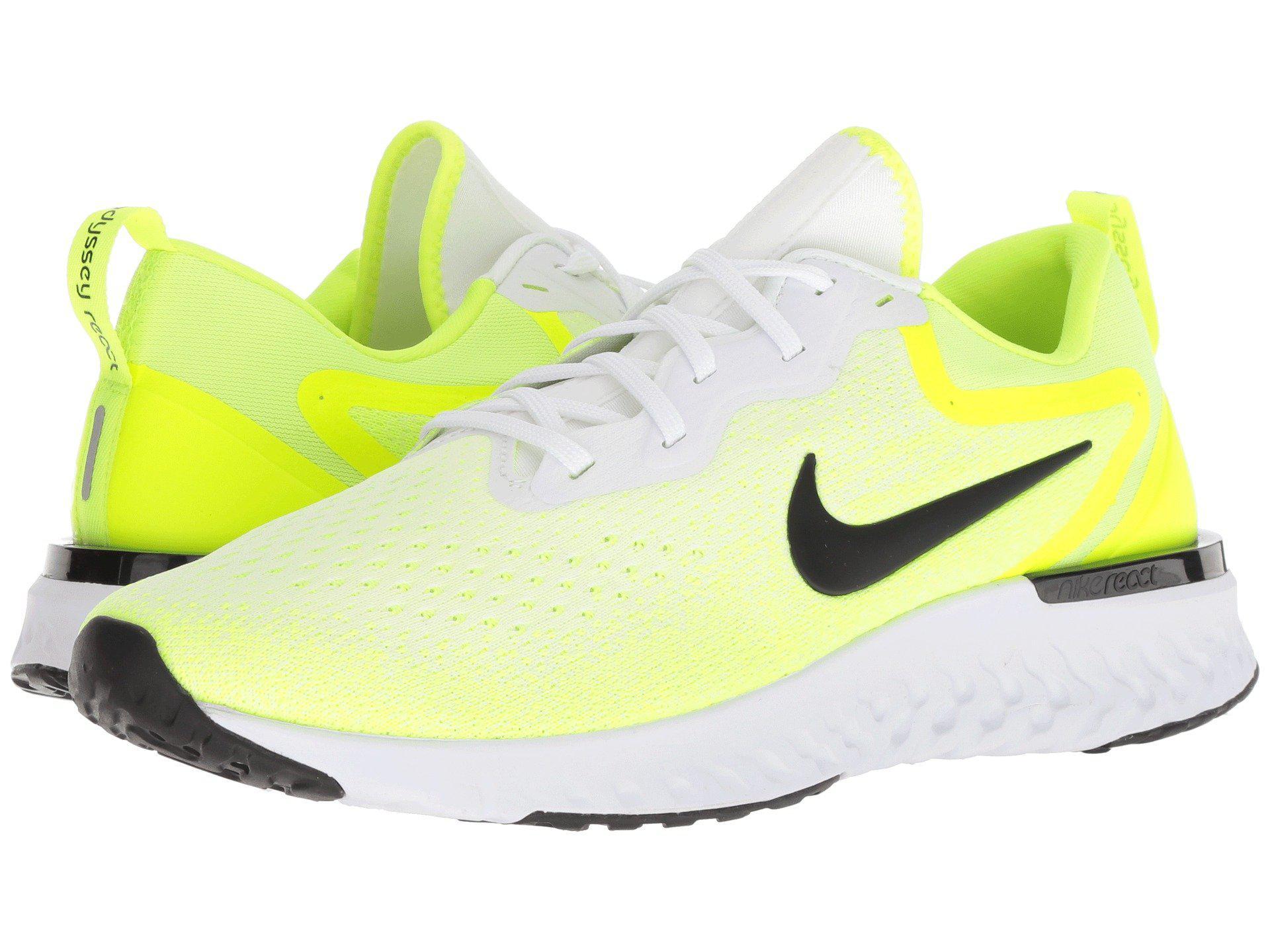 3d747a0ca Nike Odyssey React (black/metallic Pewter/thunder Grey) Men's ...