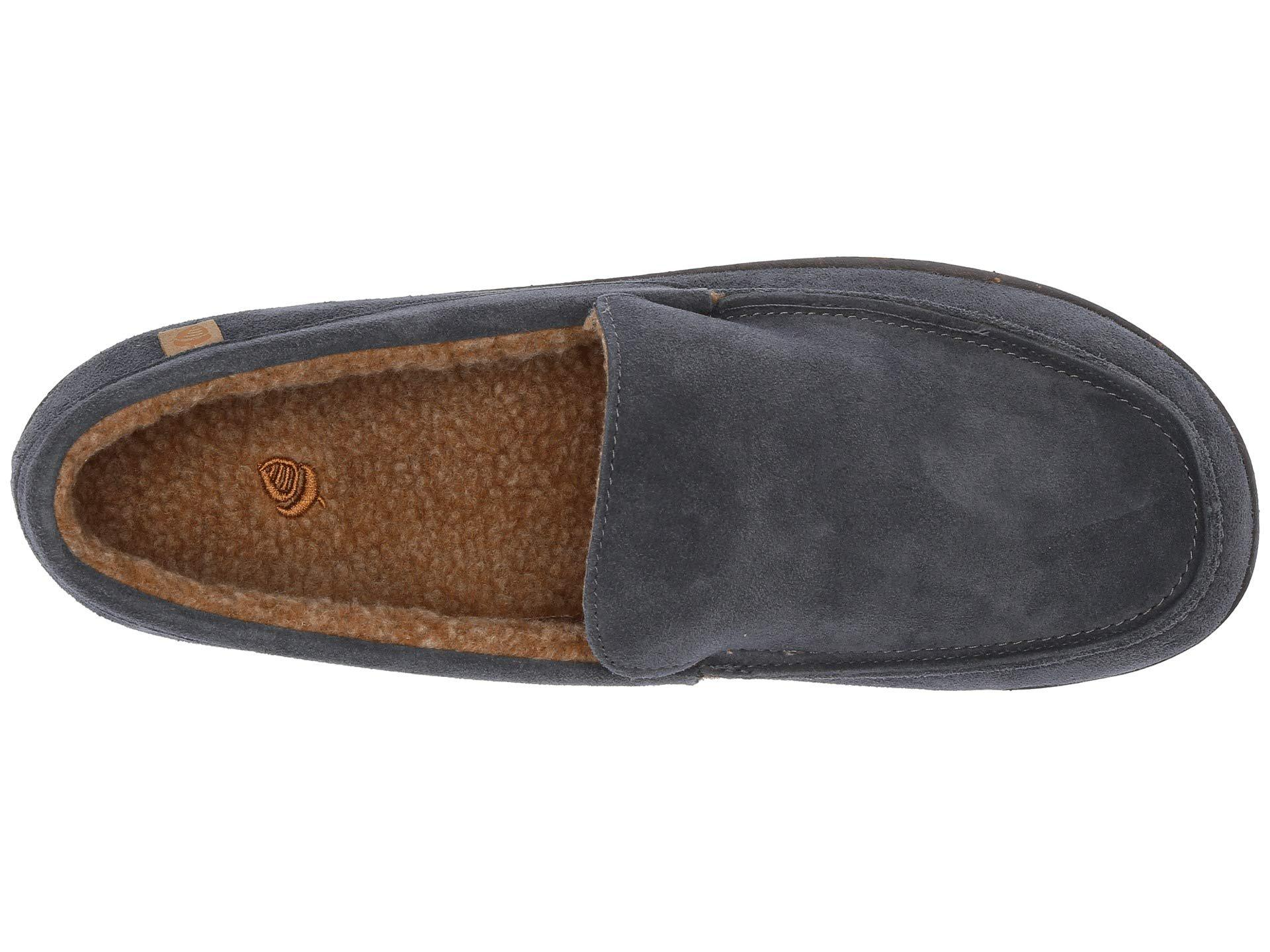 d61ccb4f7d0 Lyst - Acorn Ellsworth Suede Moc (black) Men's Slippers in Black for Men