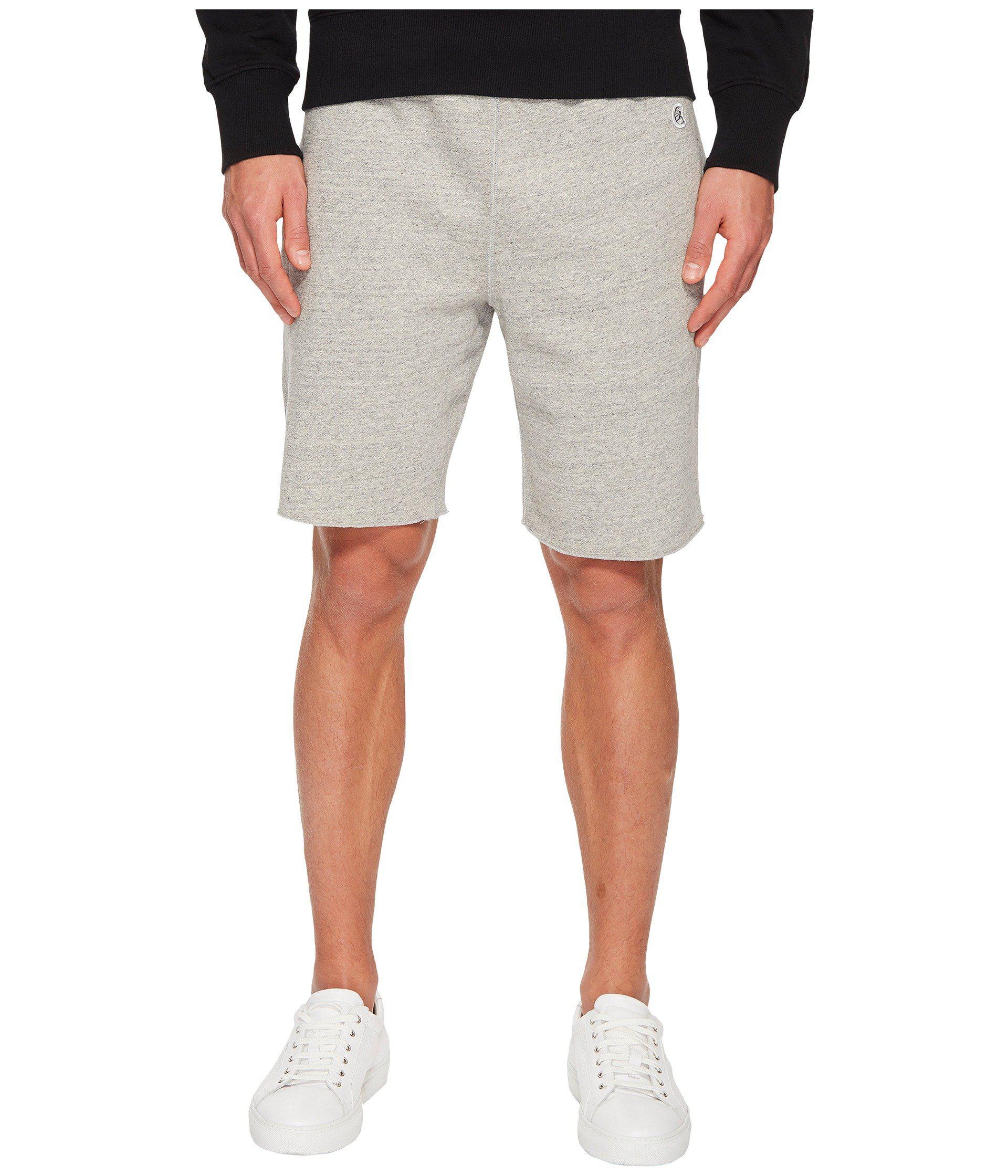 d1411fd93 Lyst - Todd Snyder Cut Off Sweatshorts (light Grey Mix) Men's Shorts ...