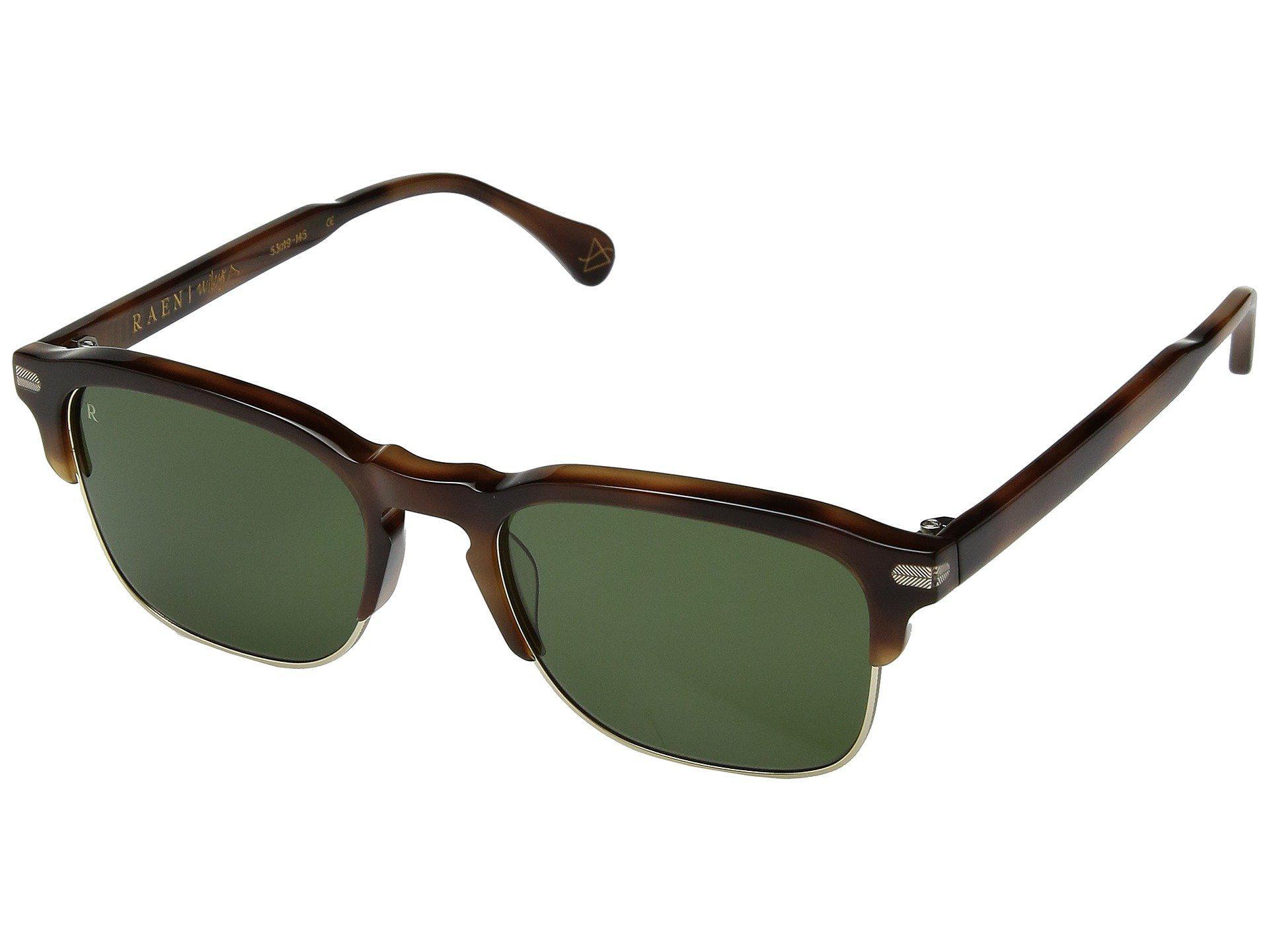 ae2b33bf2a Raen. Men s Green Wiley Alchemy 53 (brindle Tortoise smoke Polarized)  Athletic Performance Sport Sunglasses