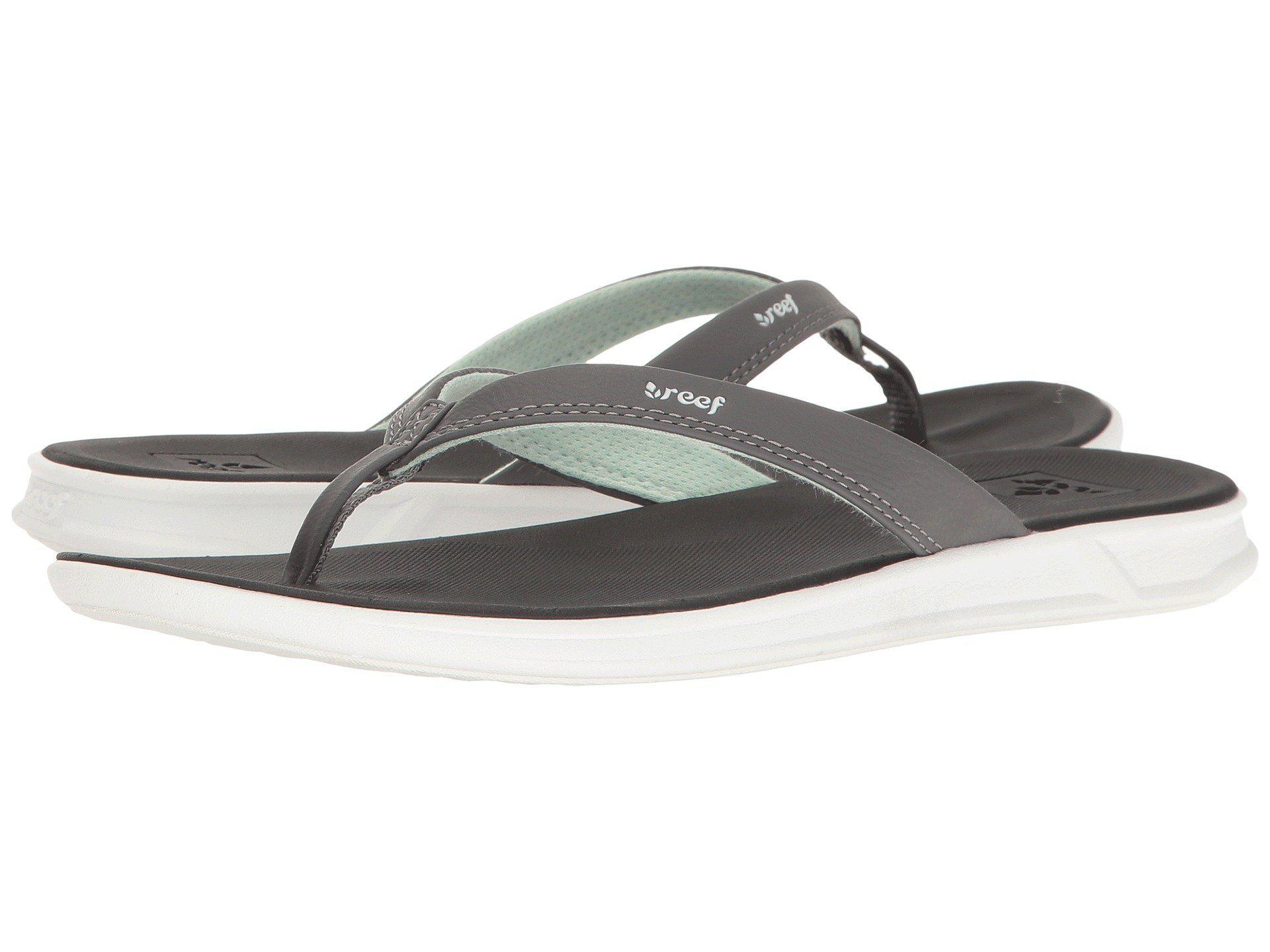 9f0195a8829d Lyst - Reef Rover Catch (black mint) Women s Sandals in Black