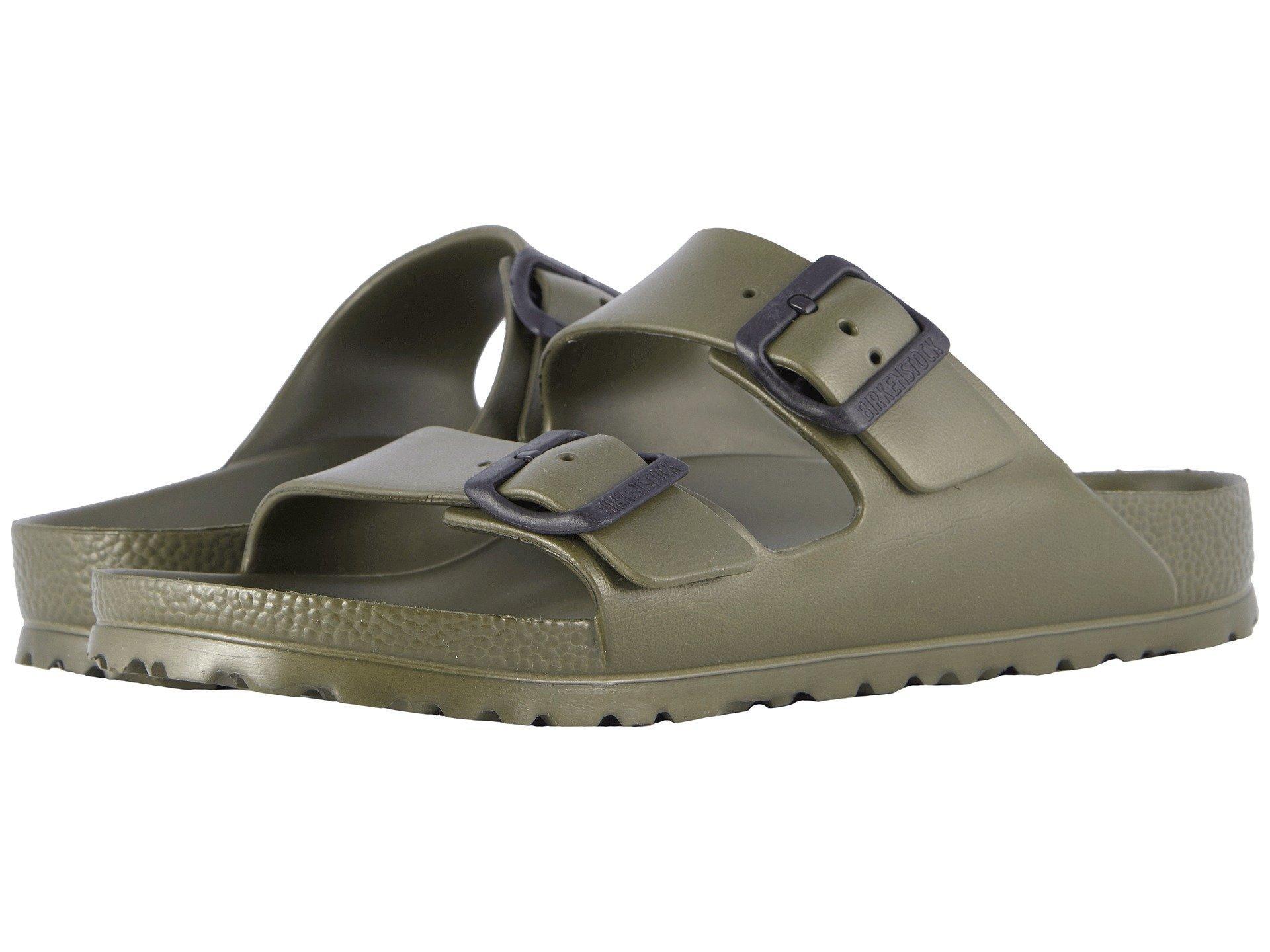 6d1983700042 Lyst - Birkenstock Arizona Essentials (black Eva) Men s Sandals in ...
