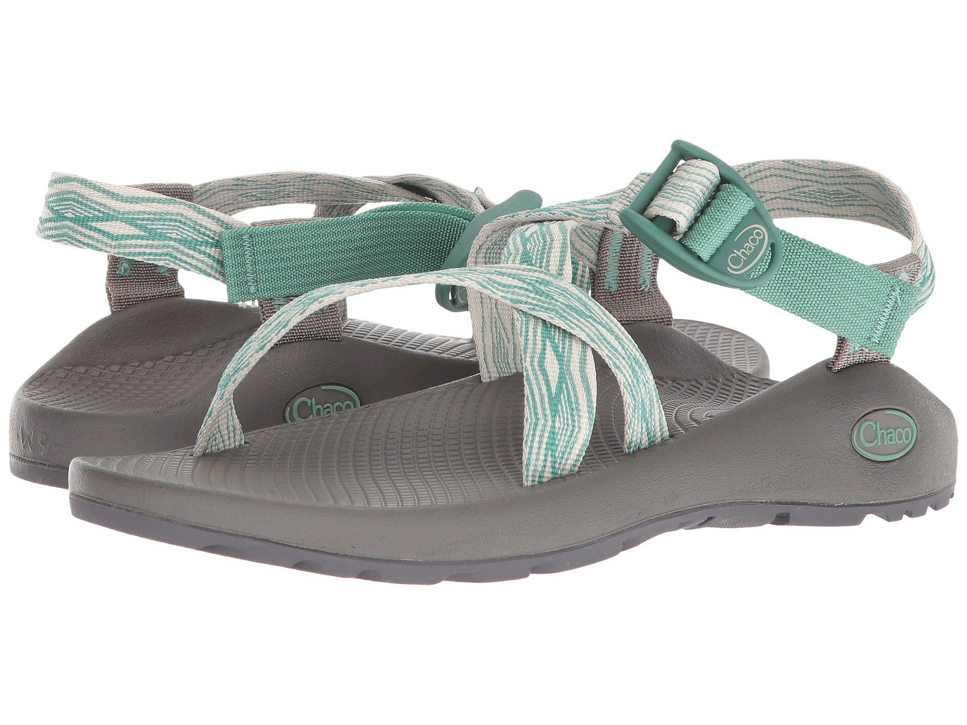 f4a59351cd10 Lyst - Chaco Z 1(r) Classic (prism Mint) Women s Sandals