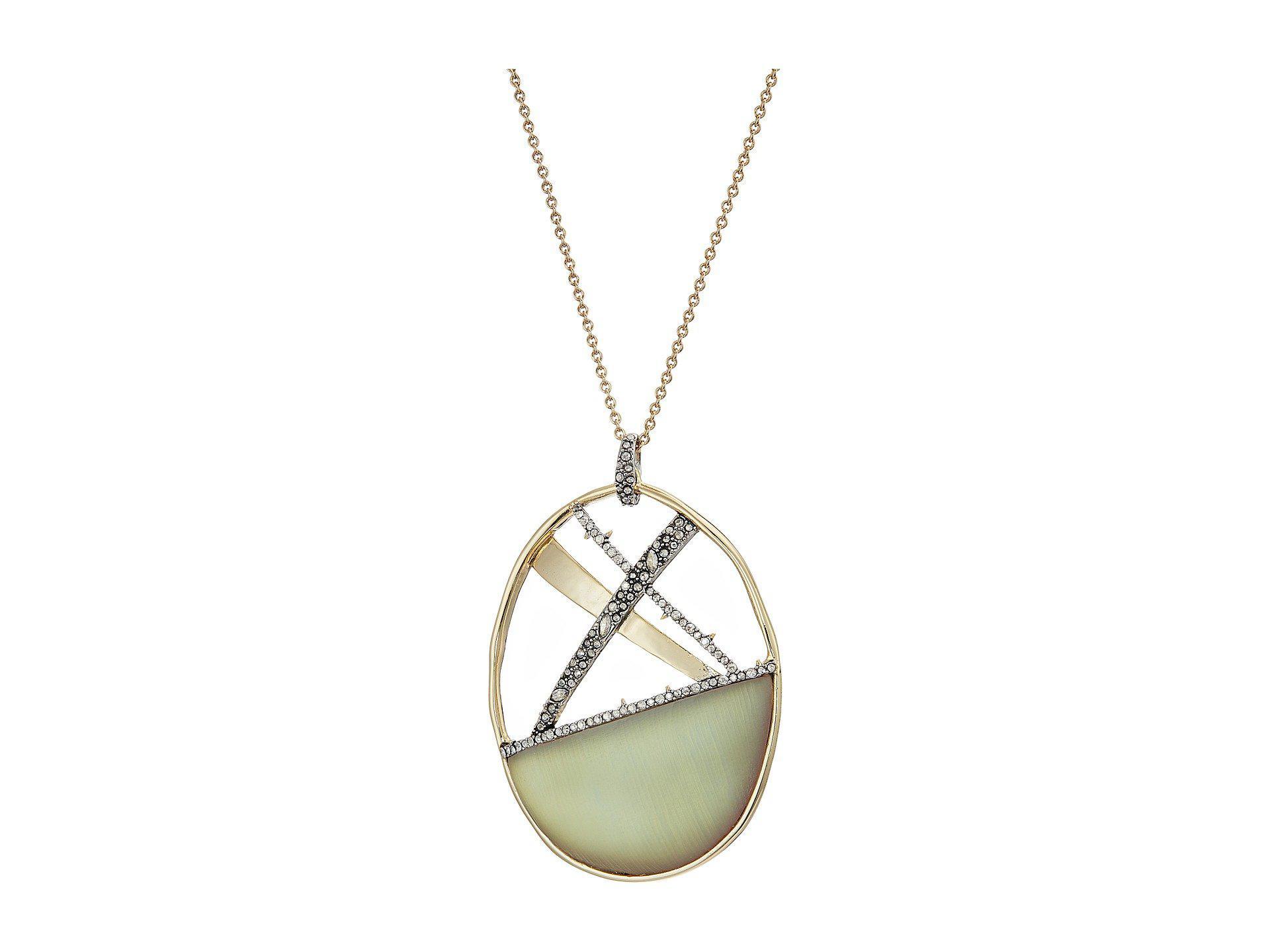 Alexis Bittar Crystal Encrusted Organic Link Tassel Bib Necklace New labradorite Qeq8HGuTbz
