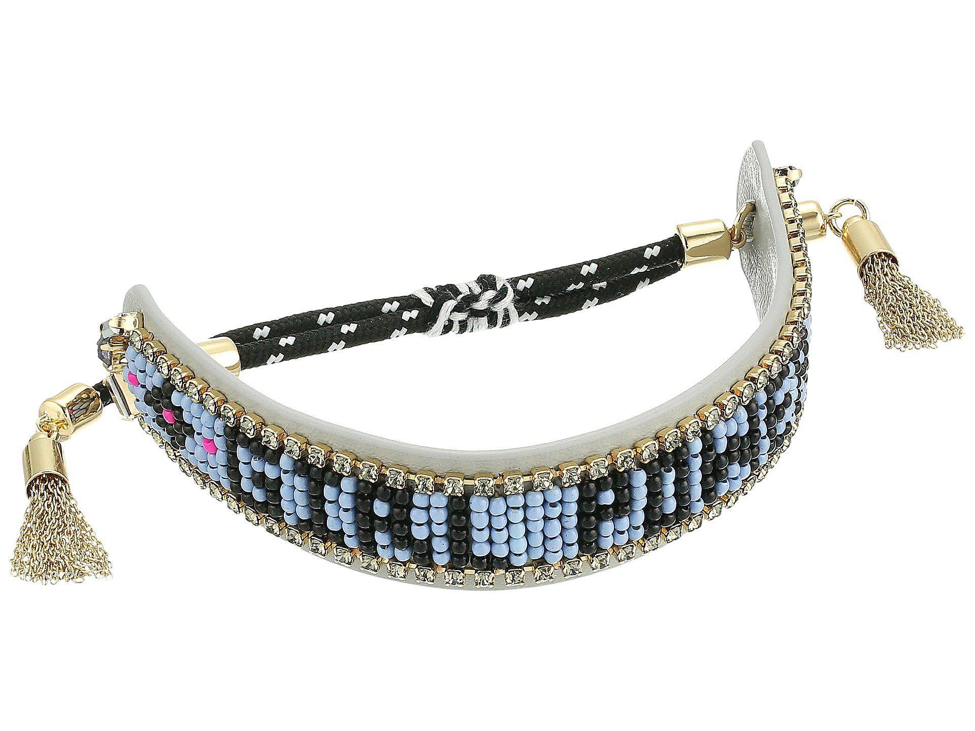 Rebecca Minkoff Girl Power Seed Bead Friendship Bracelet j4Mi6