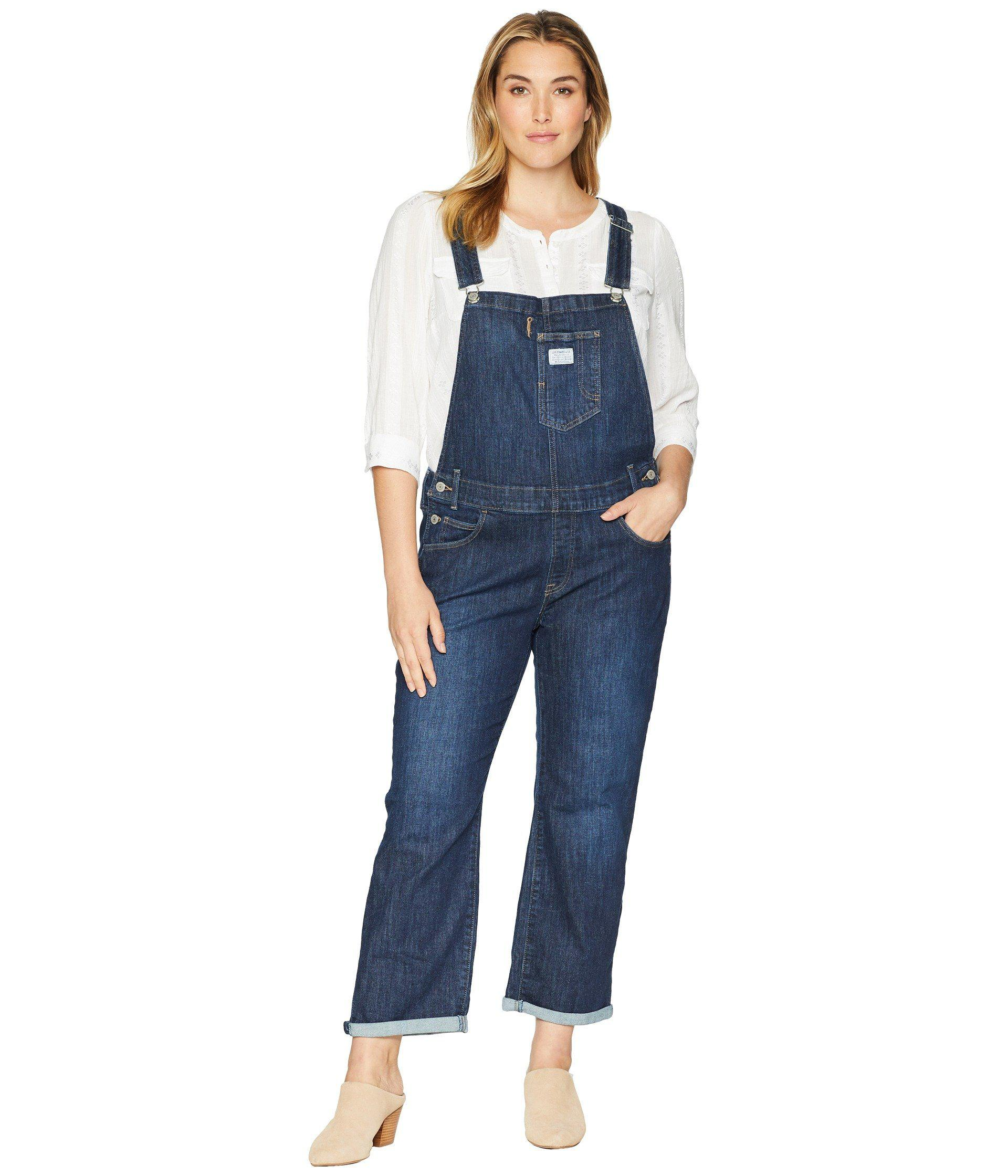 2db26b381bc Lyst - Levi s Levi s(r) Plus Overall (easy Dark Overall) Women s ...