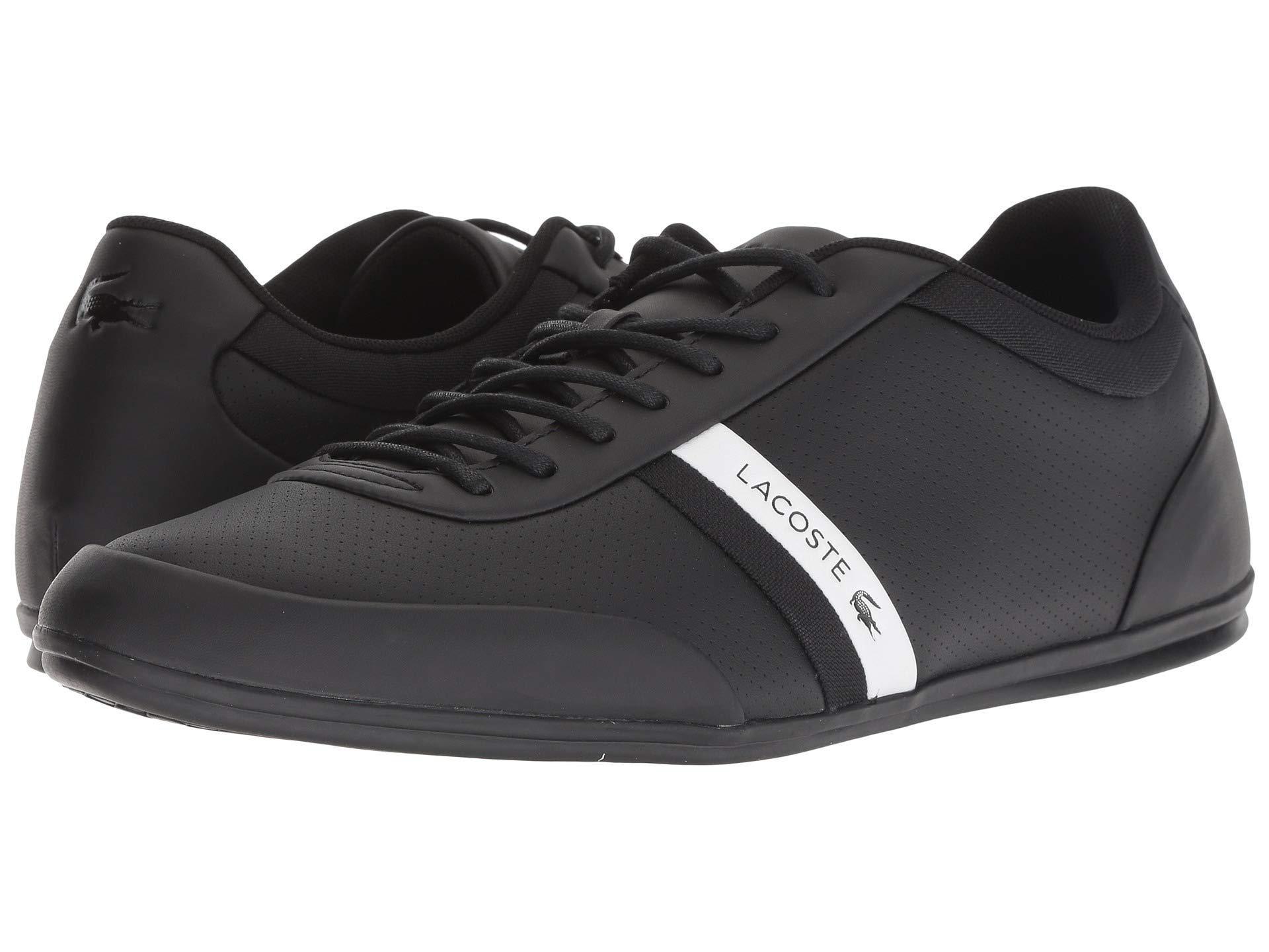 63e7ed734 Lyst - Lacoste Storda 318 1 U (white black) Men s Shoes in Black for Men