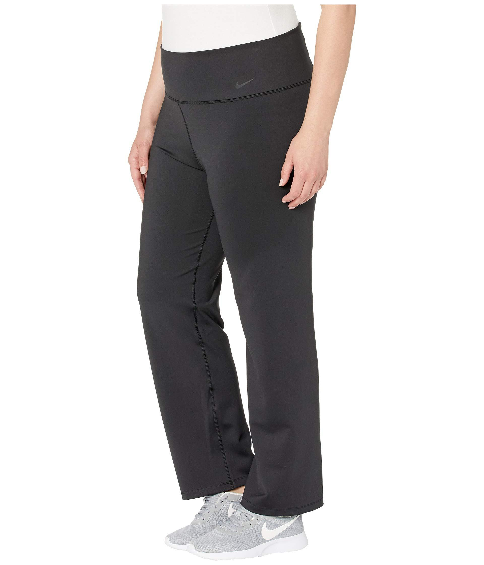 81edccc55f17f Nike Power Classic Gym Pants (sizes 1x-3x) (black/black) Women's ...