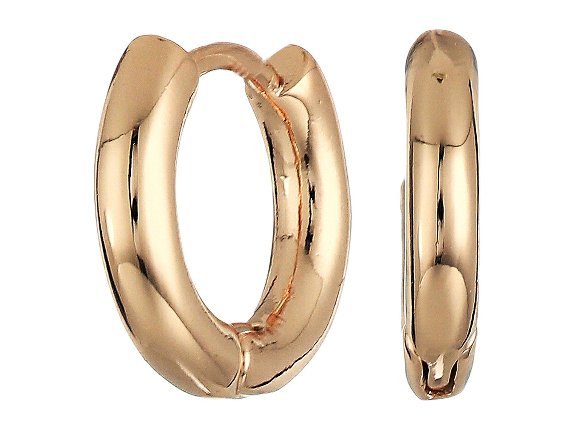 French Connection Huggie Hoop Earrings qaYriI3a