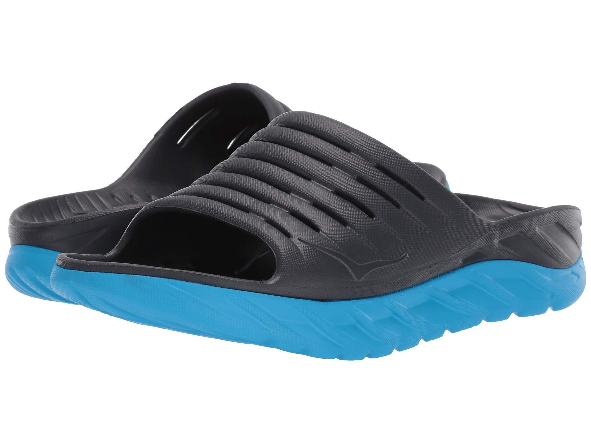 1a8847a2cc24 Lyst - Hoka One One Ora Recovery Slide 2 (black black) Men s Shoes ...