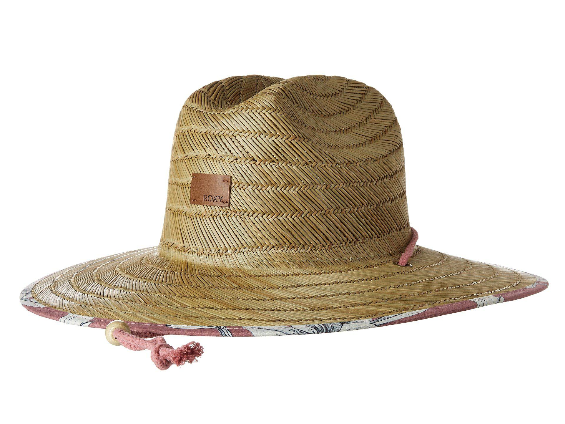 Roxy. Women s Tomboy Printed Sun Hat (withered Rose Lily House) Traditional  Hats ea94b71d20e3