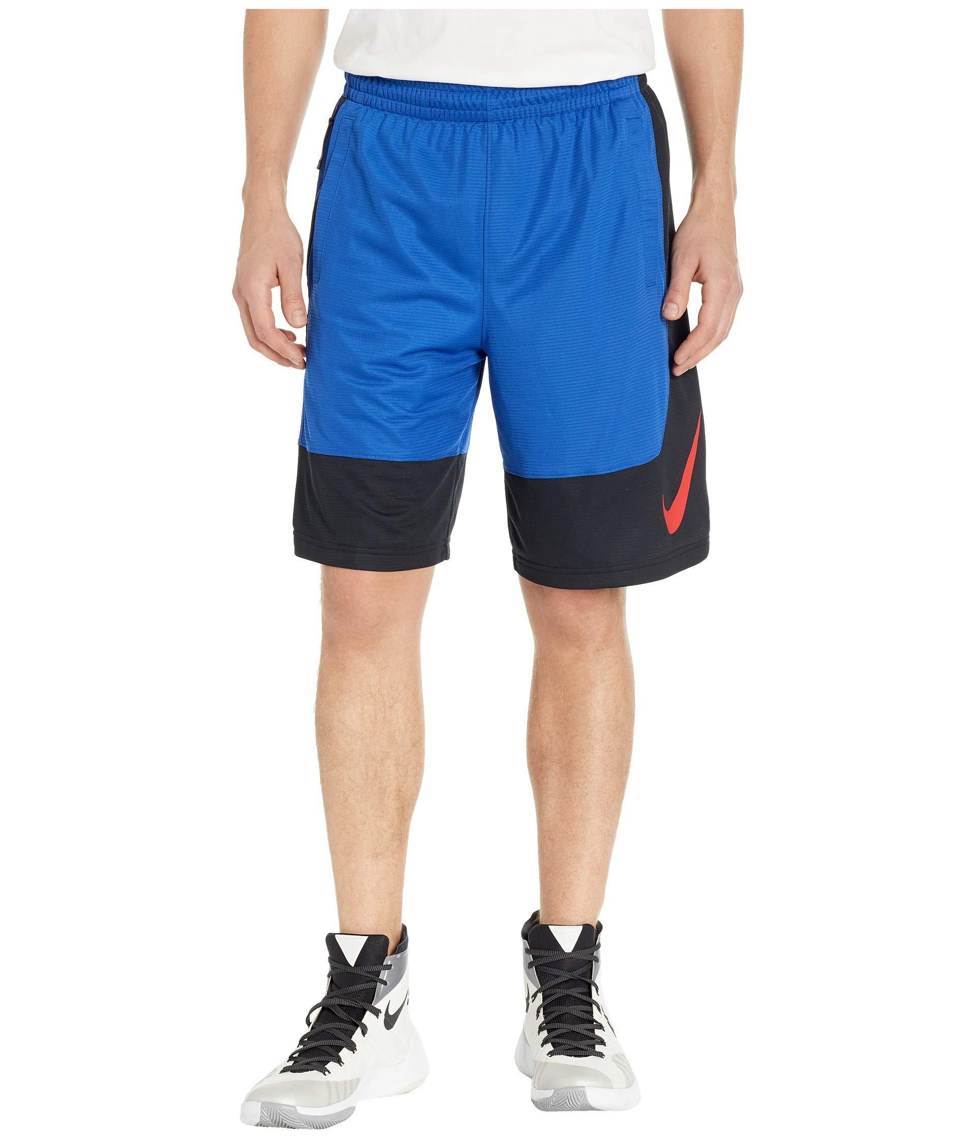 d953d1e58 Lyst - Nike Dry Shorts Asymmetrical (anthracite/black/white) Men's ...