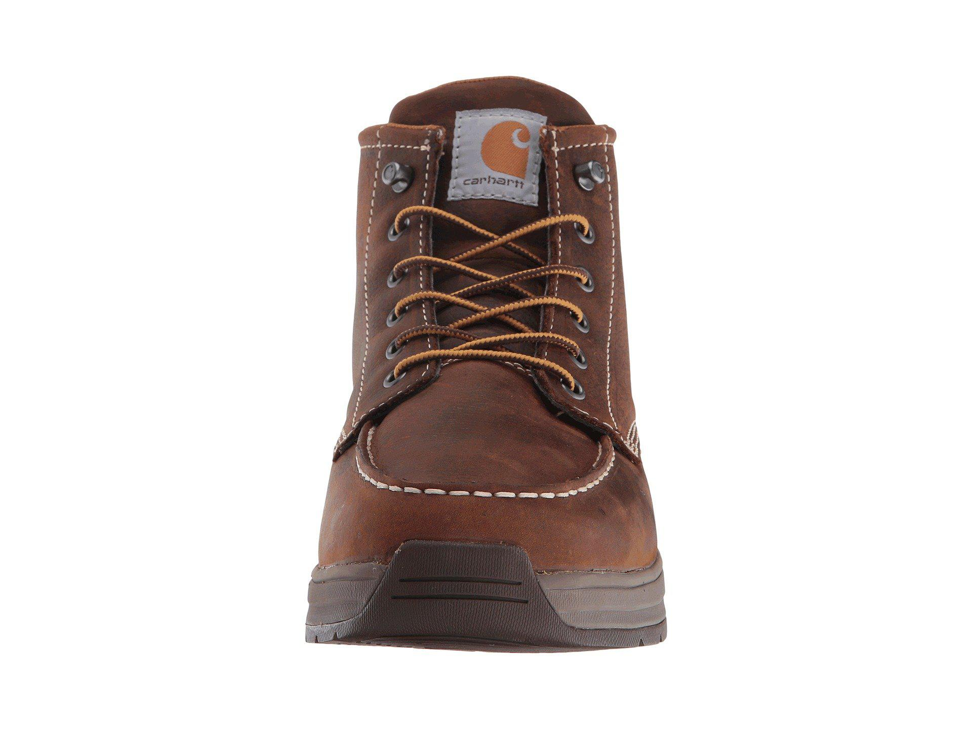 5643100cd9b Carhartt - 4 Lightweight Wedge Boot (brown Oil Tanned Leather) Men s Work Boots  for. View fullscreen