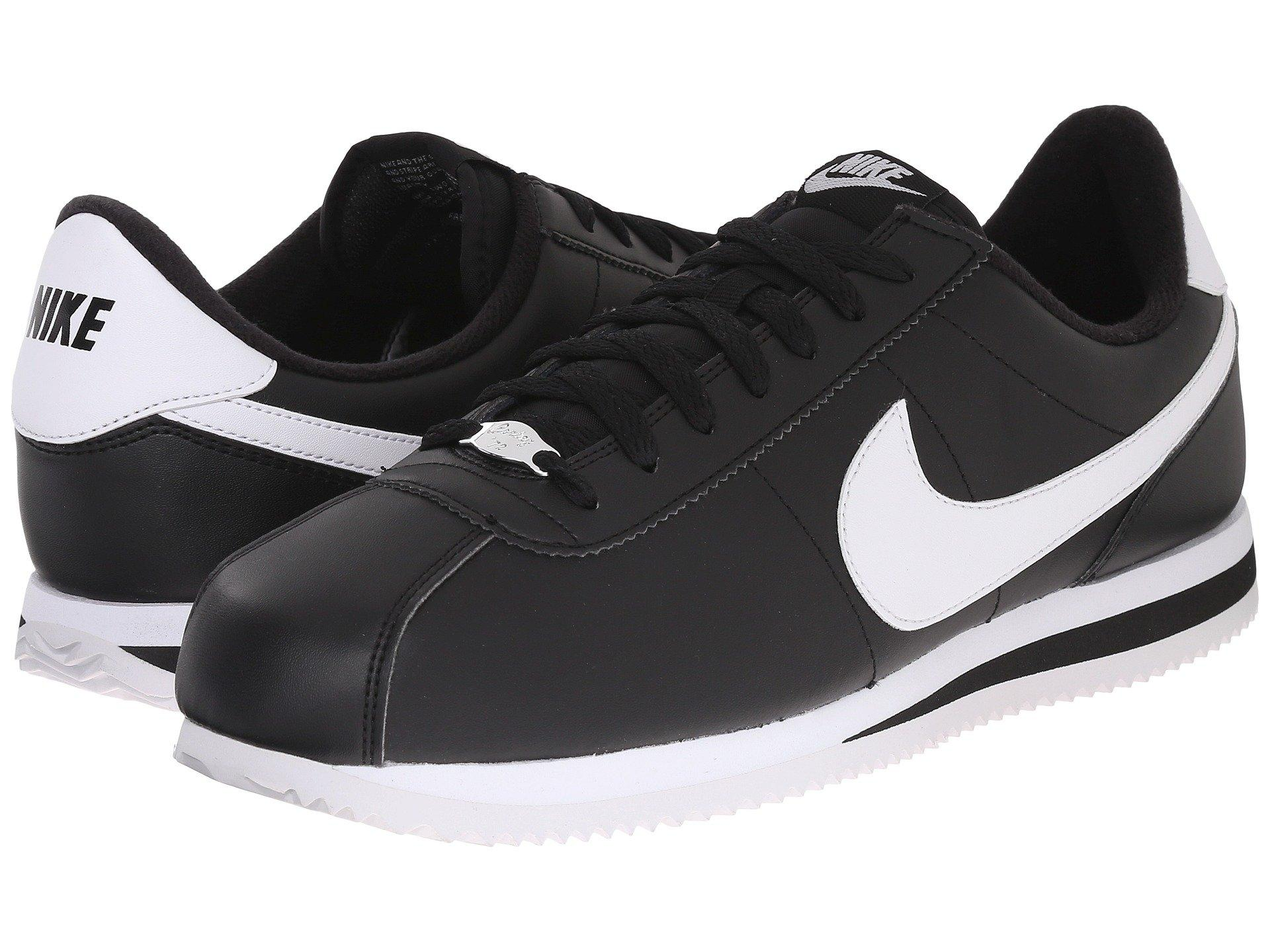 34112fdb5ea Lyst - Nike Cortez Leather (white wolf Grey metallic Silver white ...