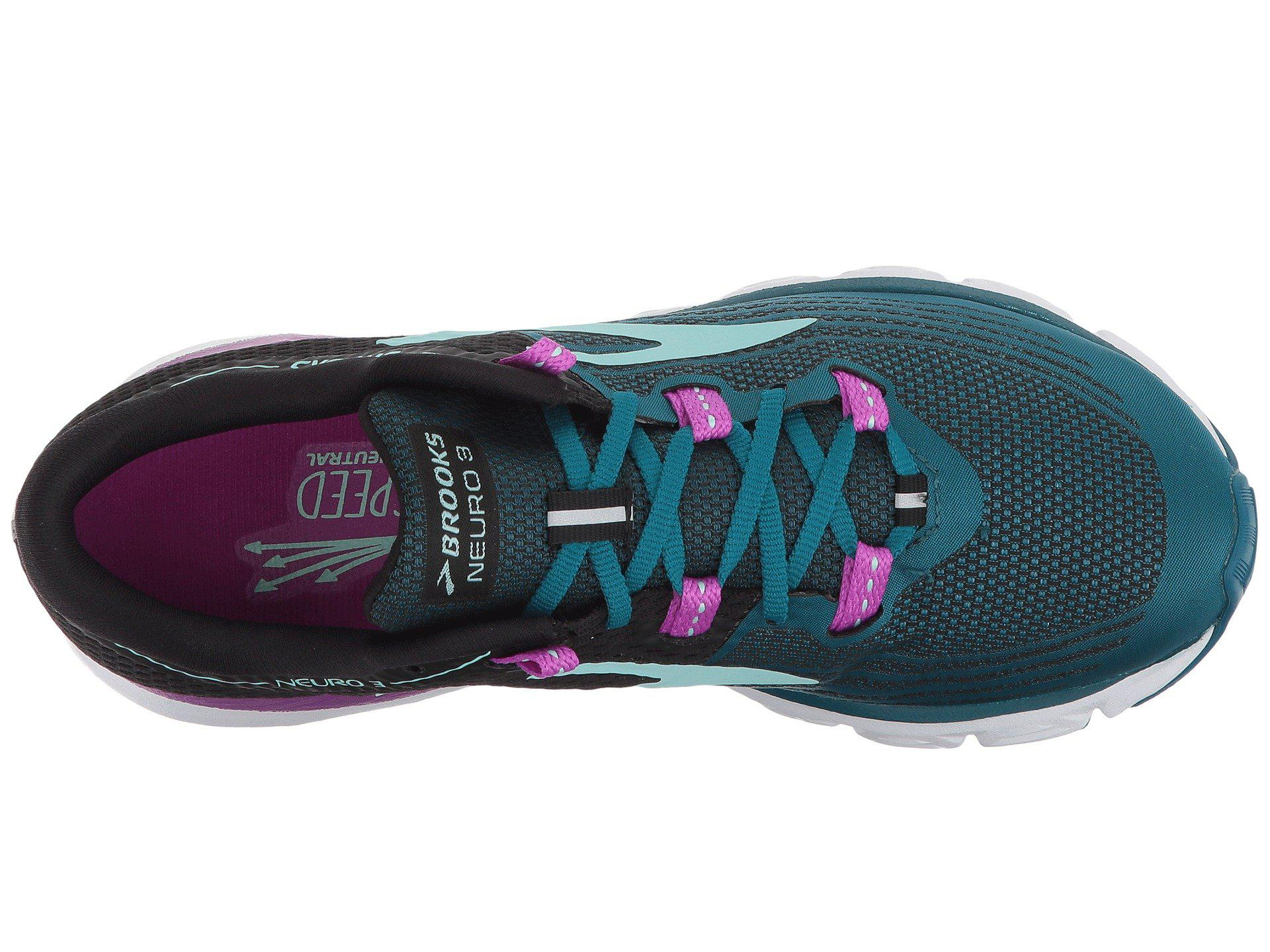 26c063dbeb0 Brooks - Multicolor Neuro 3 (lagoon black purple) Women s Running Shoes -.  View fullscreen
