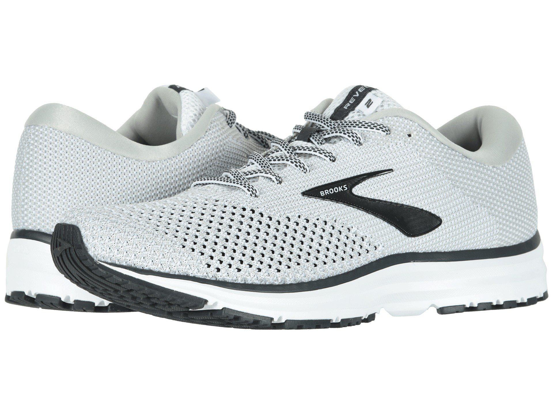 f20e7bd8fcd Lyst - Brooks Revel 2 (black light Grey orange) Men s Running Shoes ...