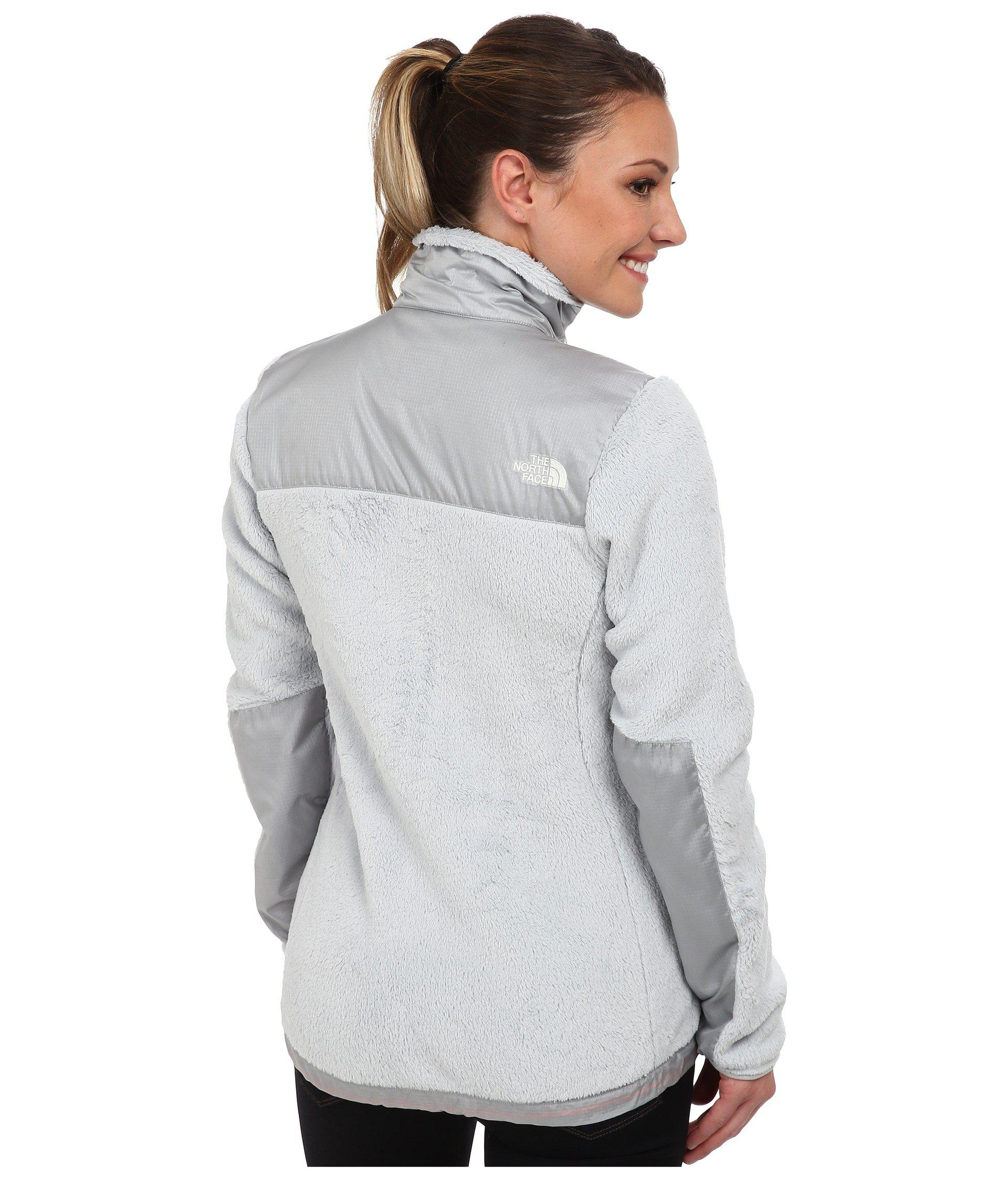 7d9414f63892 Lyst - The North Face Luxe Denali Jacket (high Rise Grey high Rise ...